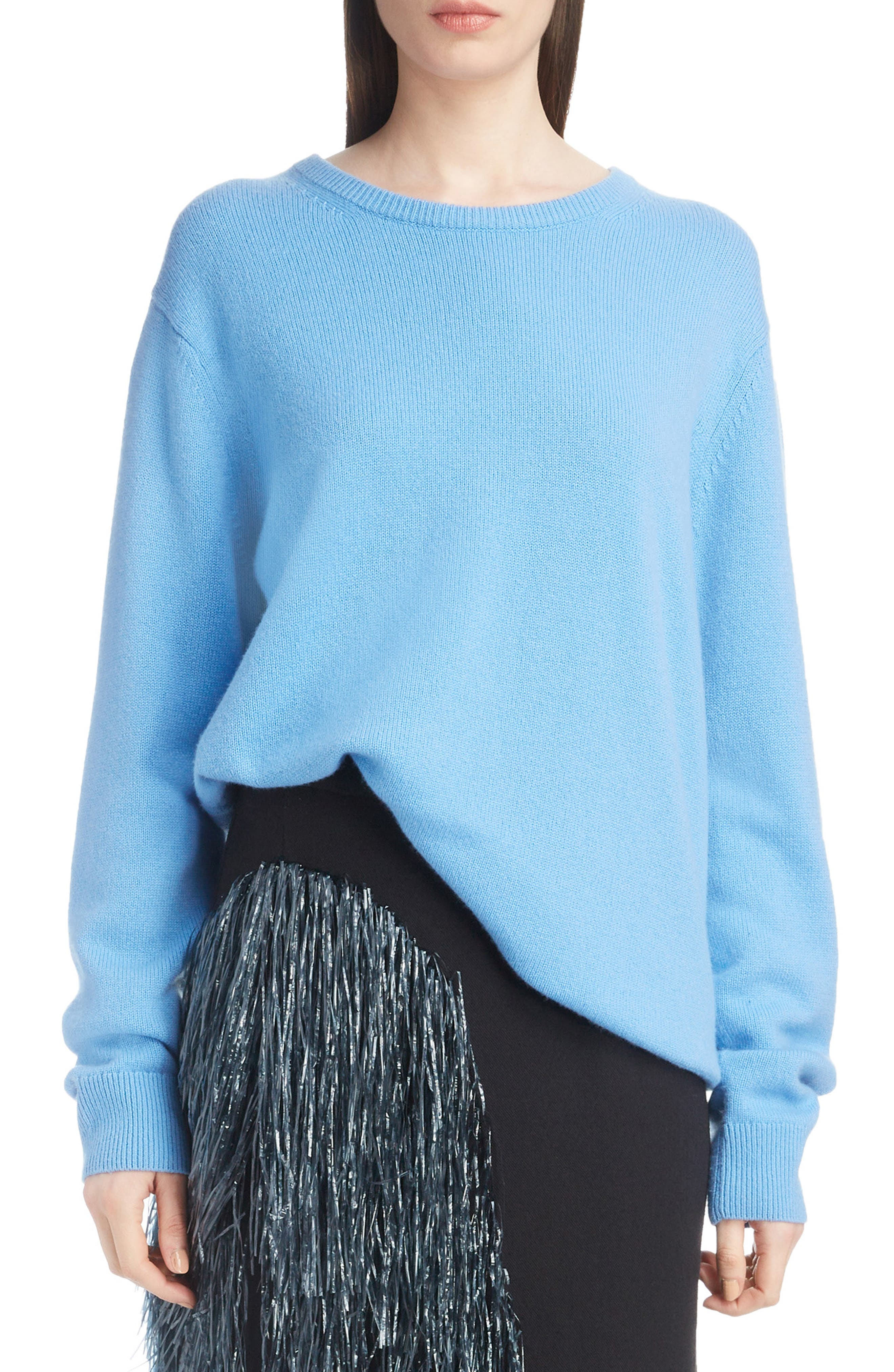 Relaxed Cashmere Sweater,                             Main thumbnail 1, color,                             400