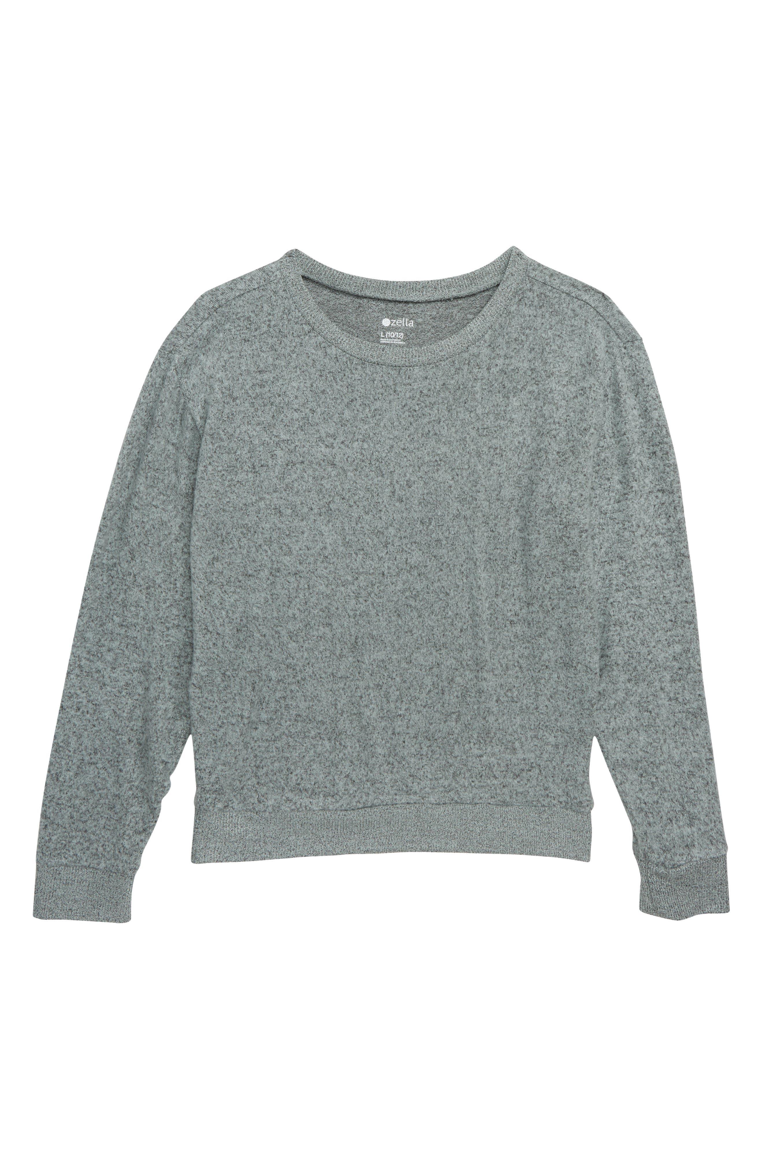 Girls Zella Girl Supersoft Sweater