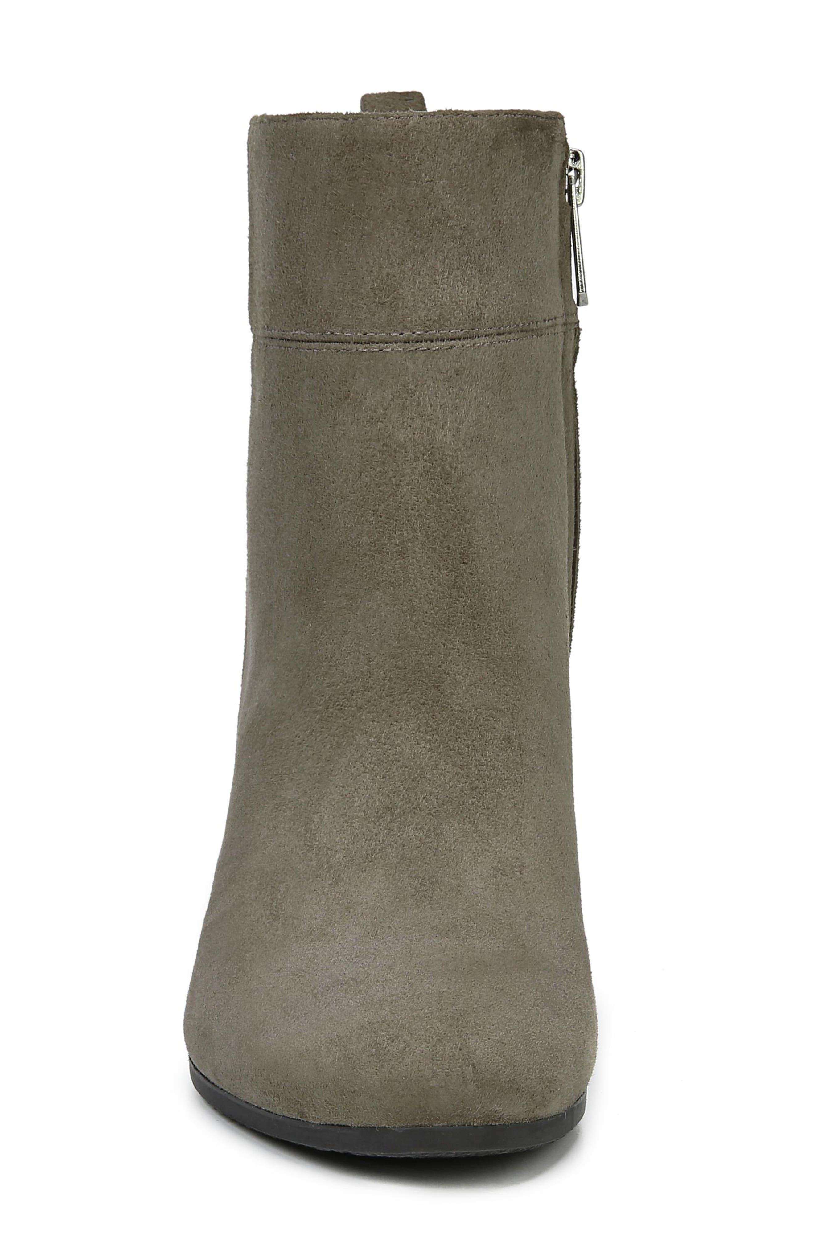 Sianna Bootie,                             Alternate thumbnail 4, color,                             FLINT GREY SUEDE