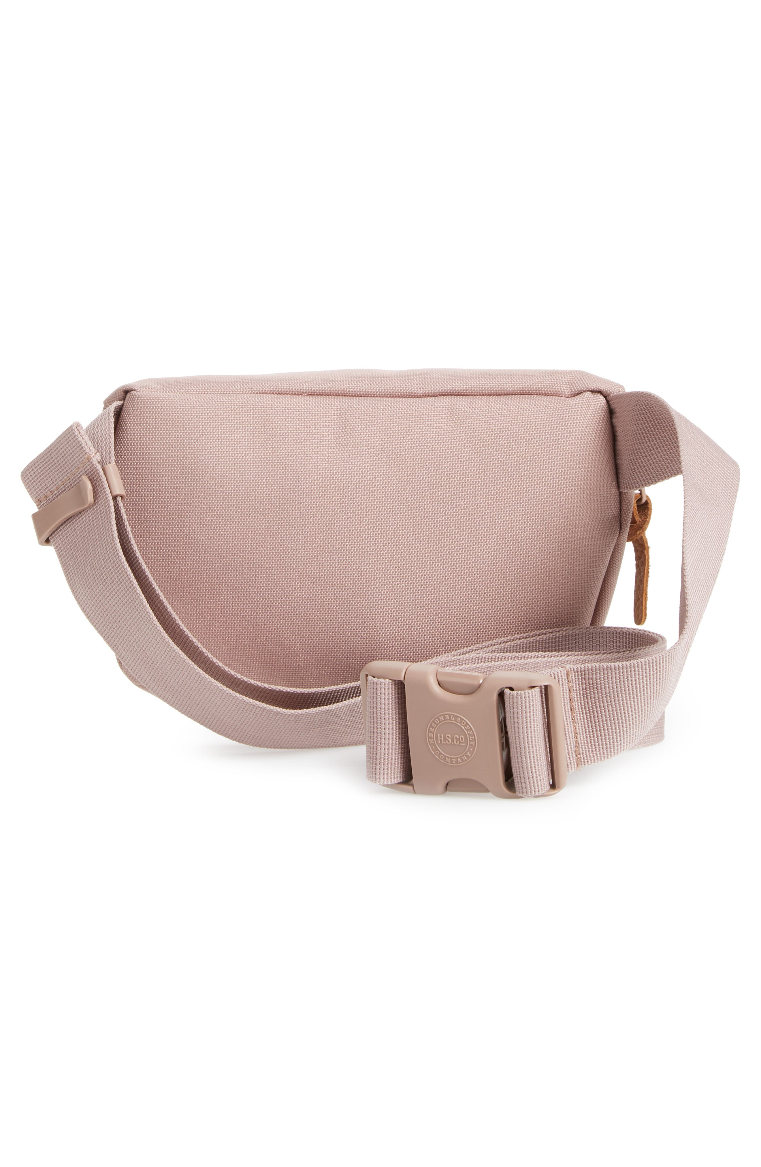 Fourteen Belt Bag,                             Alternate thumbnail 4, color,                             ASH ROSE