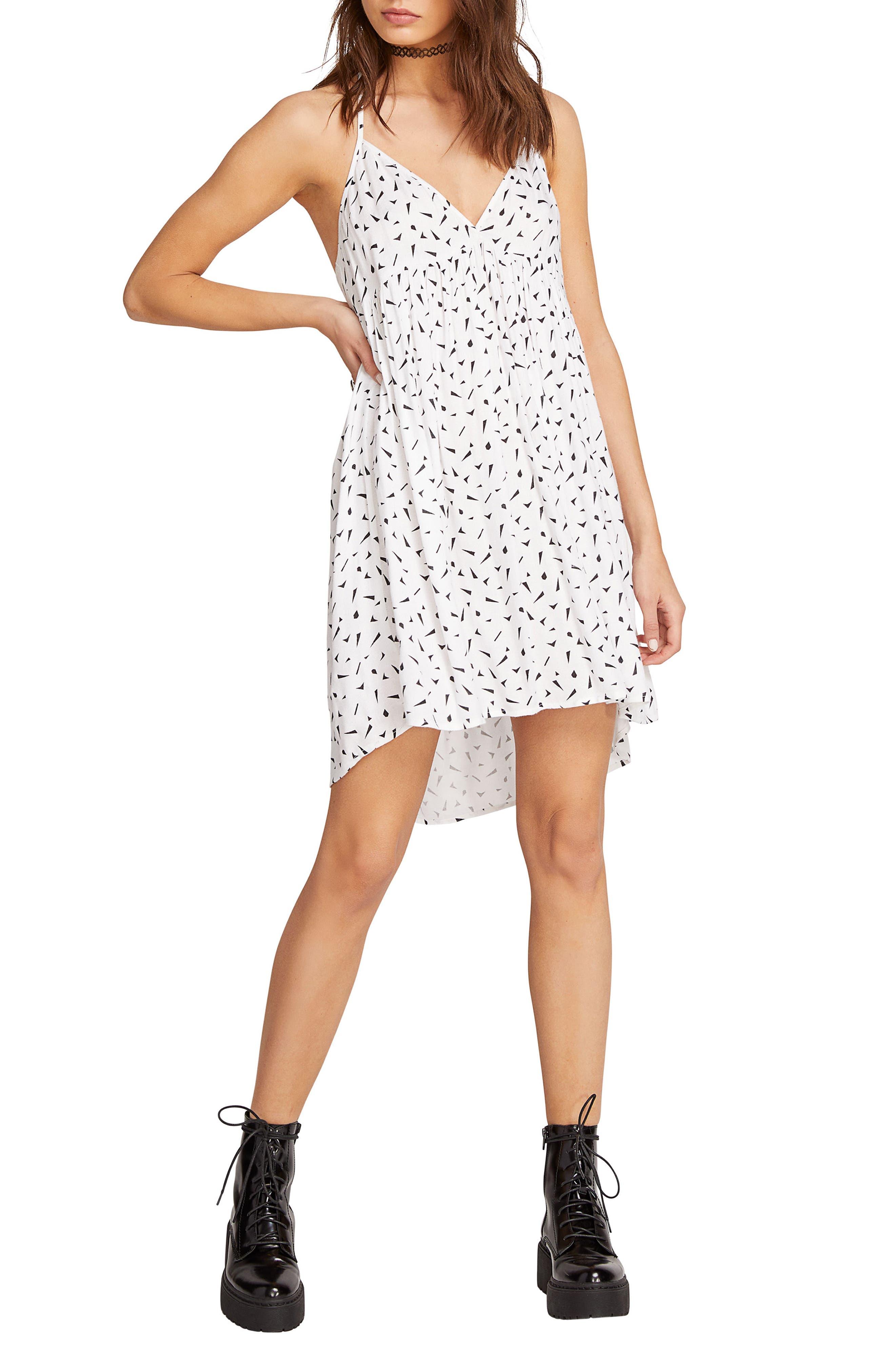 Volcom Dot Com Dress, White