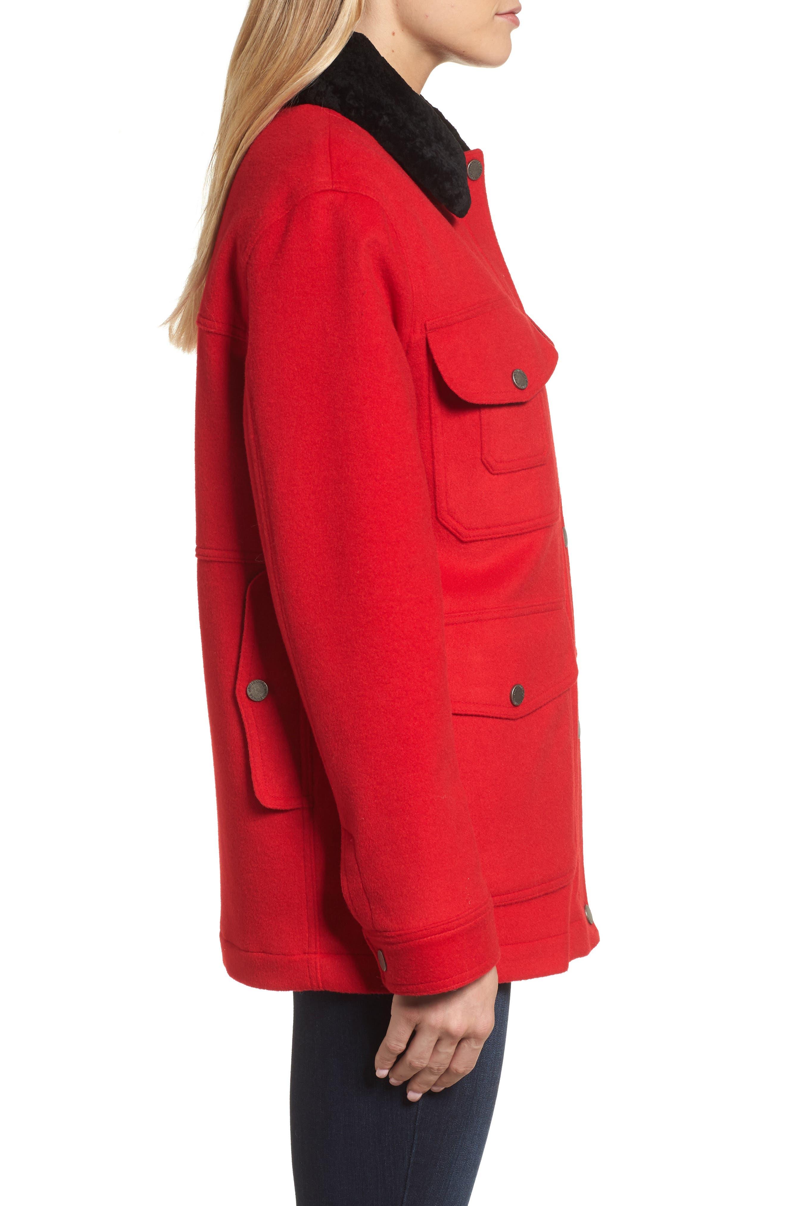 Manchester Waterproof Field Coat,                             Alternate thumbnail 6, color,