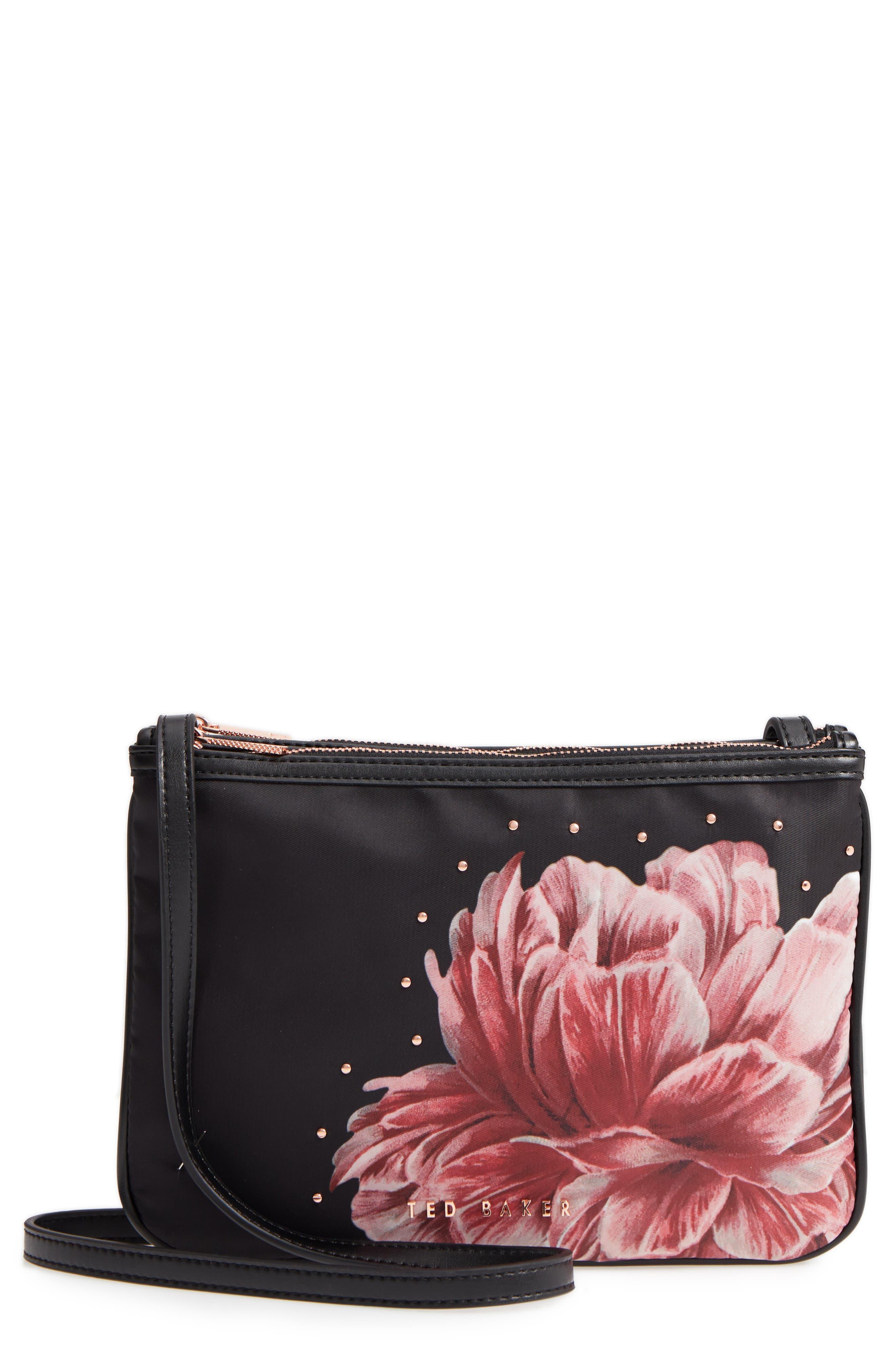Tranquility Crossbody Bag,                         Main,                         color, BLACK
