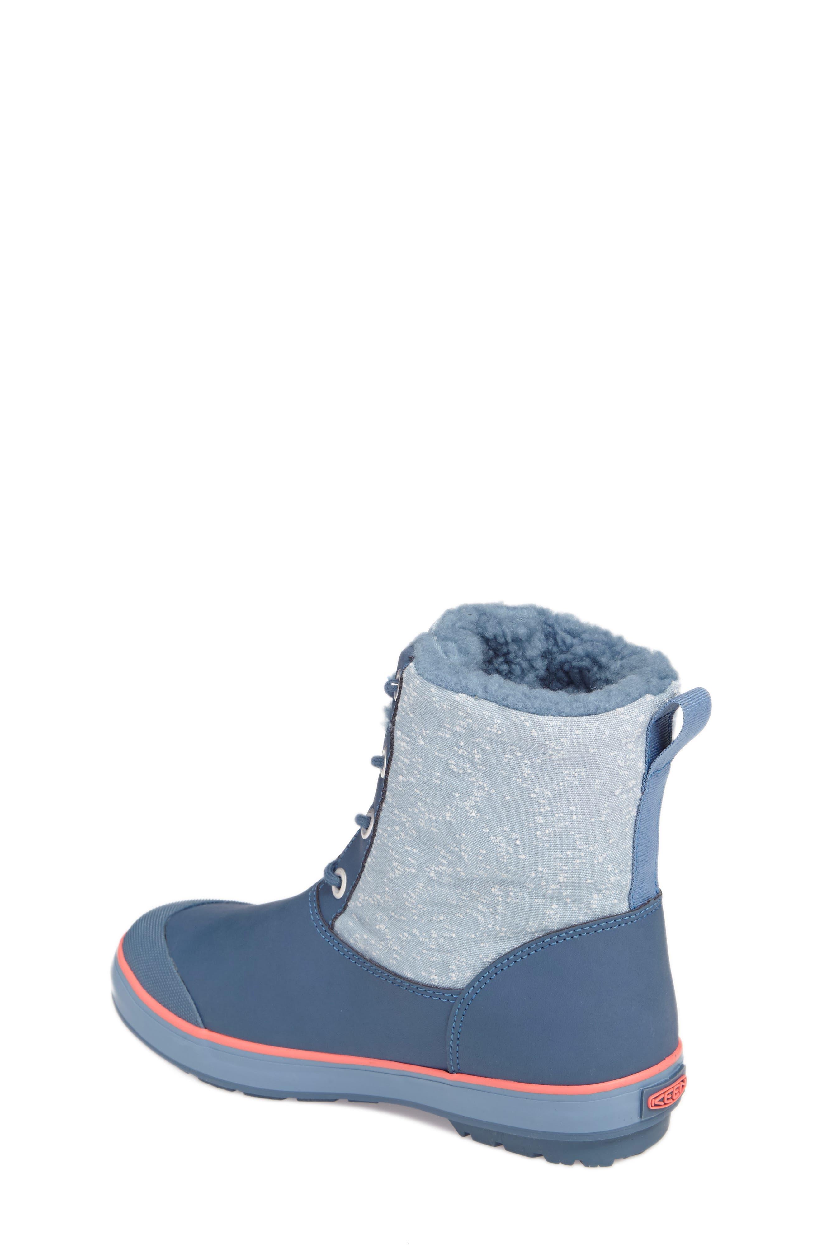 Elsa Waterproof Faux Fur Lined Snow Boot,                             Alternate thumbnail 8, color,
