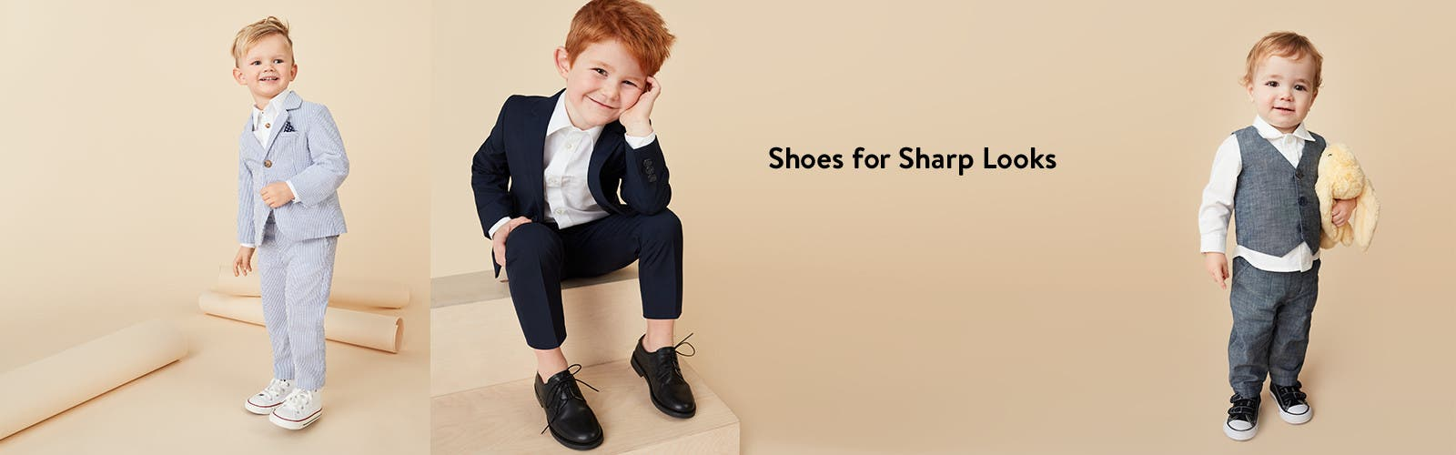 Shoes for sharp looks.