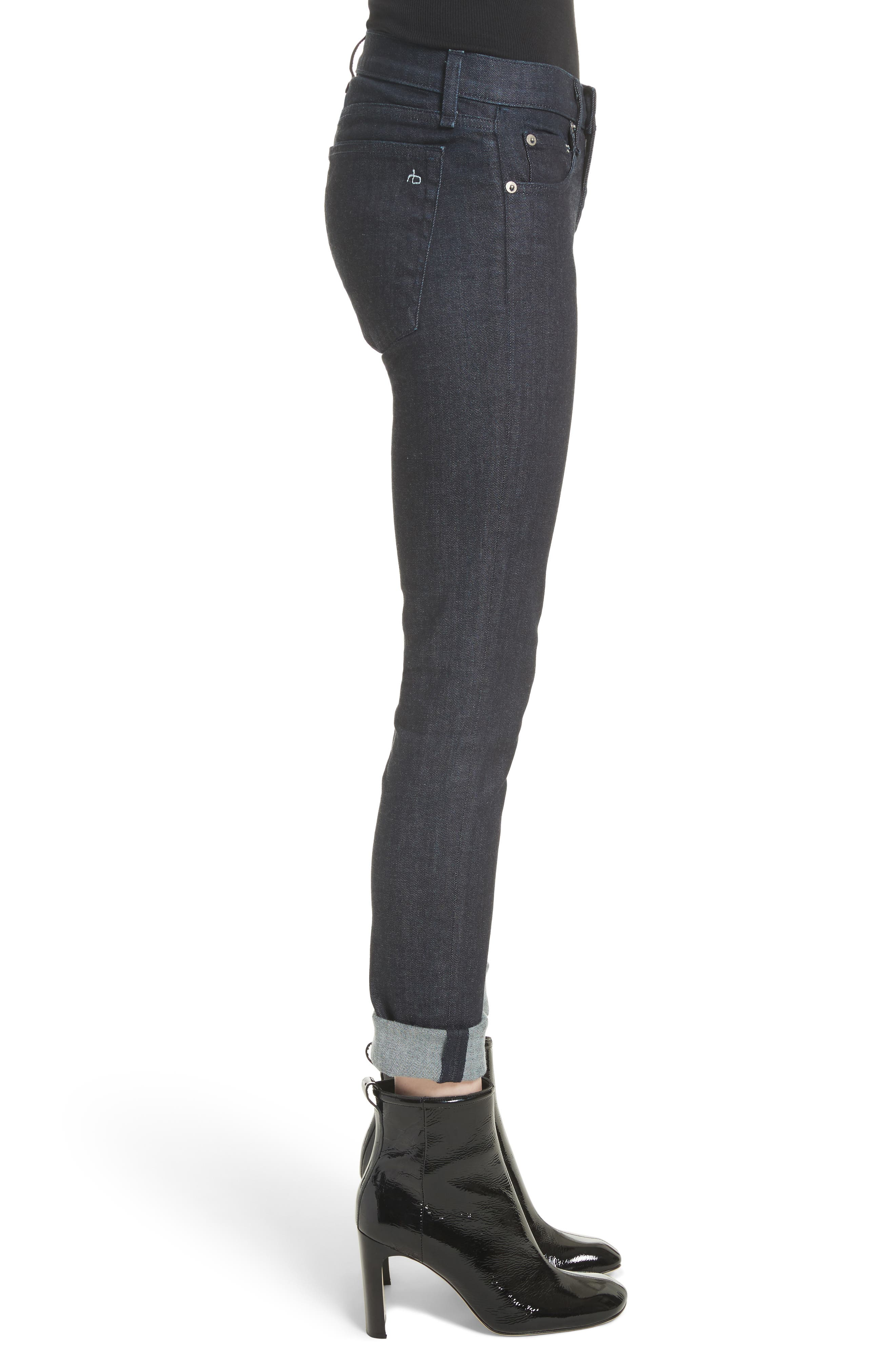 The Dre Skinny Jeans,                             Alternate thumbnail 3, color,                             470