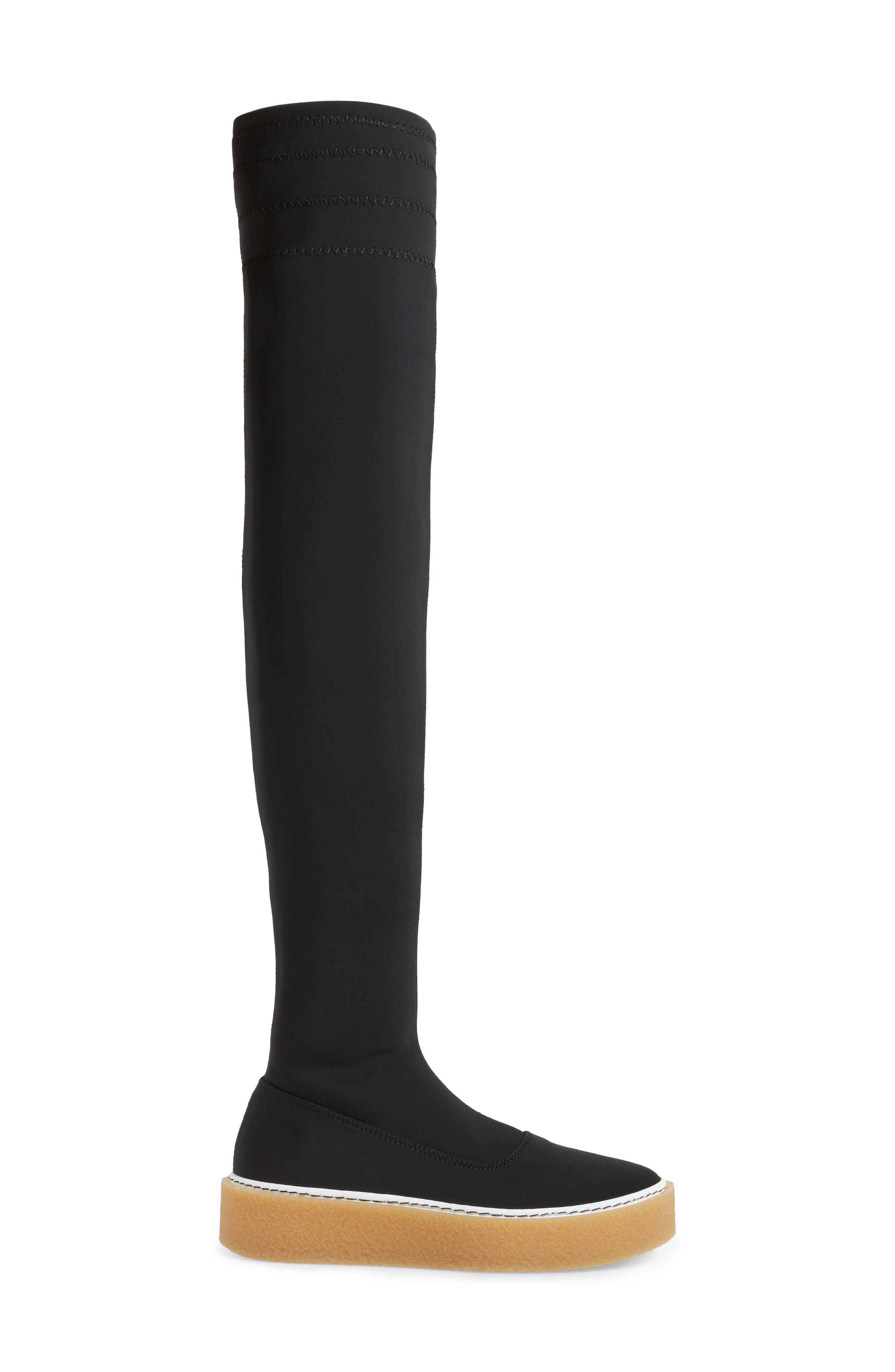 Outer Limits Thigh High Boot,                             Alternate thumbnail 3, color,                             001
