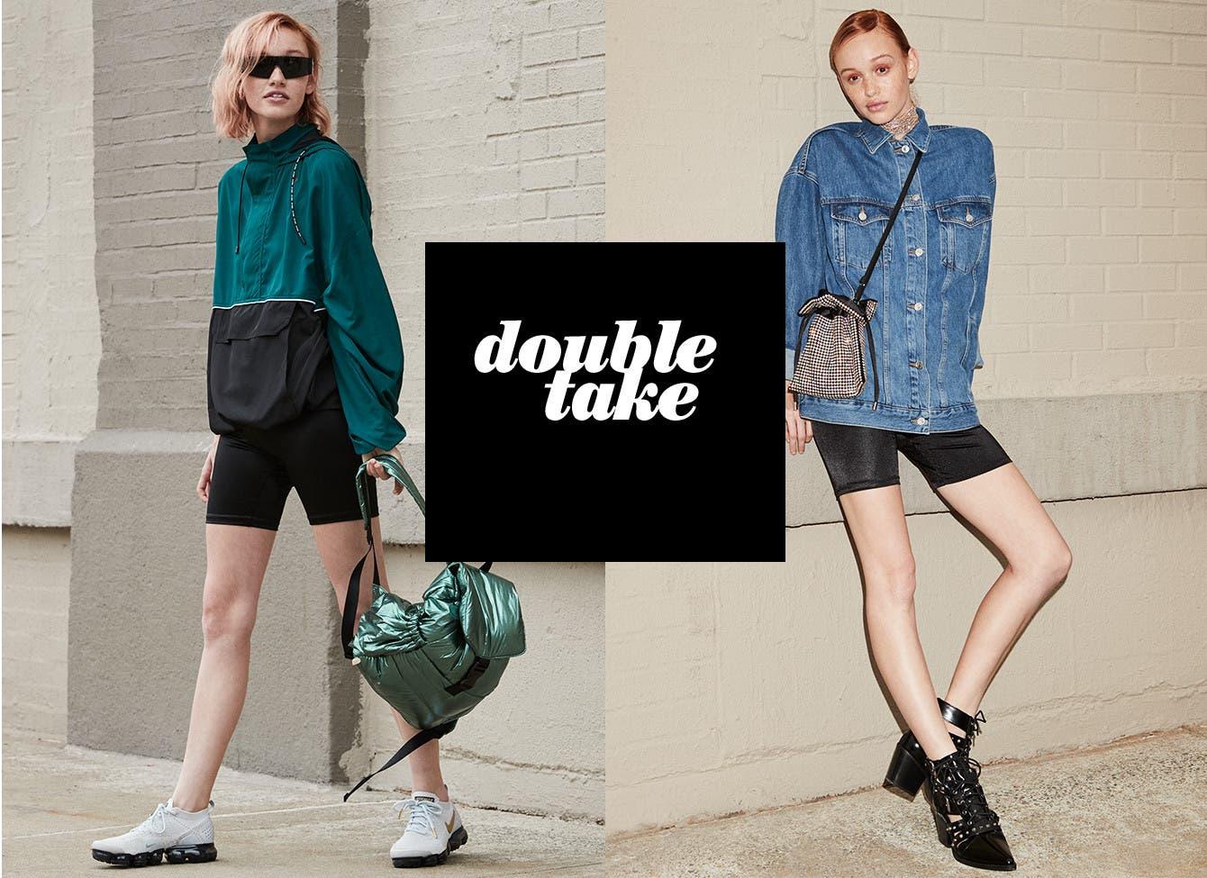 Double take.