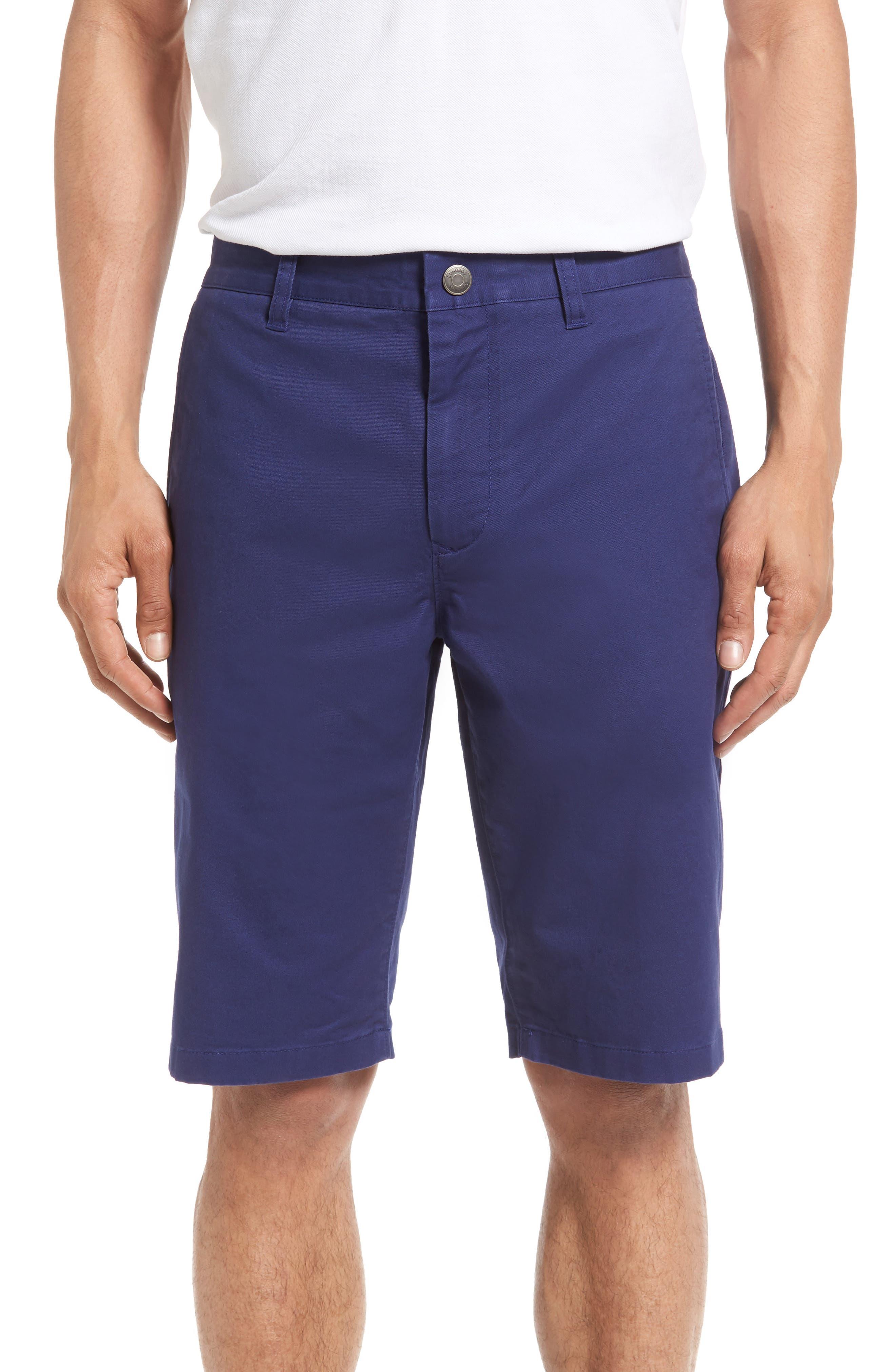 Stretch Washed Chino 11-Inch Shorts,                             Main thumbnail 8, color,