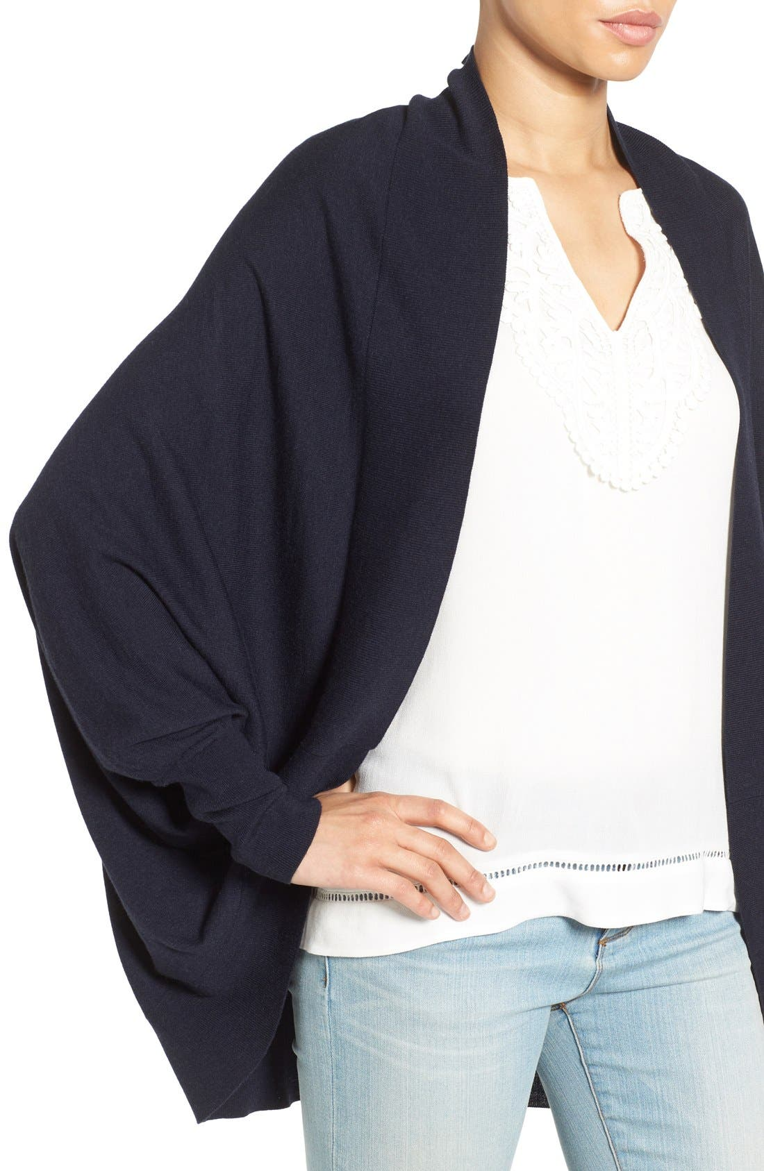 Knit Cocoon Cardigan,                             Alternate thumbnail 38, color,