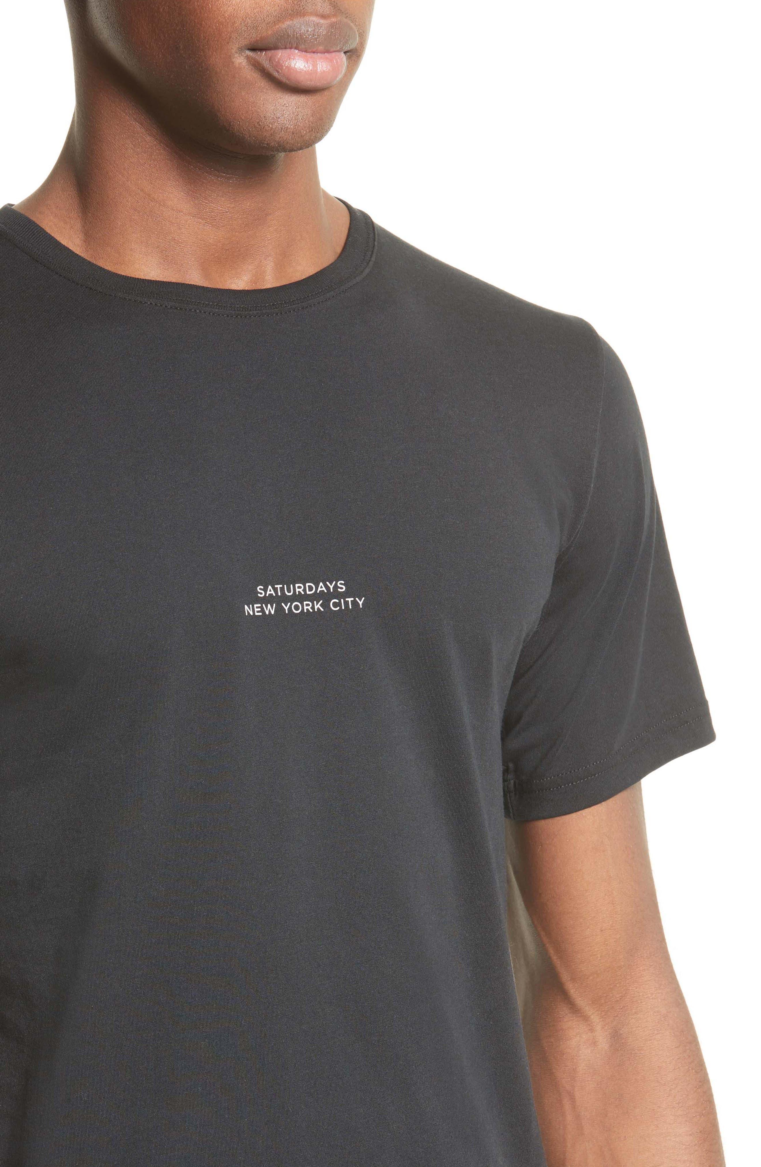 Gotham T-Shirt,                             Alternate thumbnail 4, color,                             001