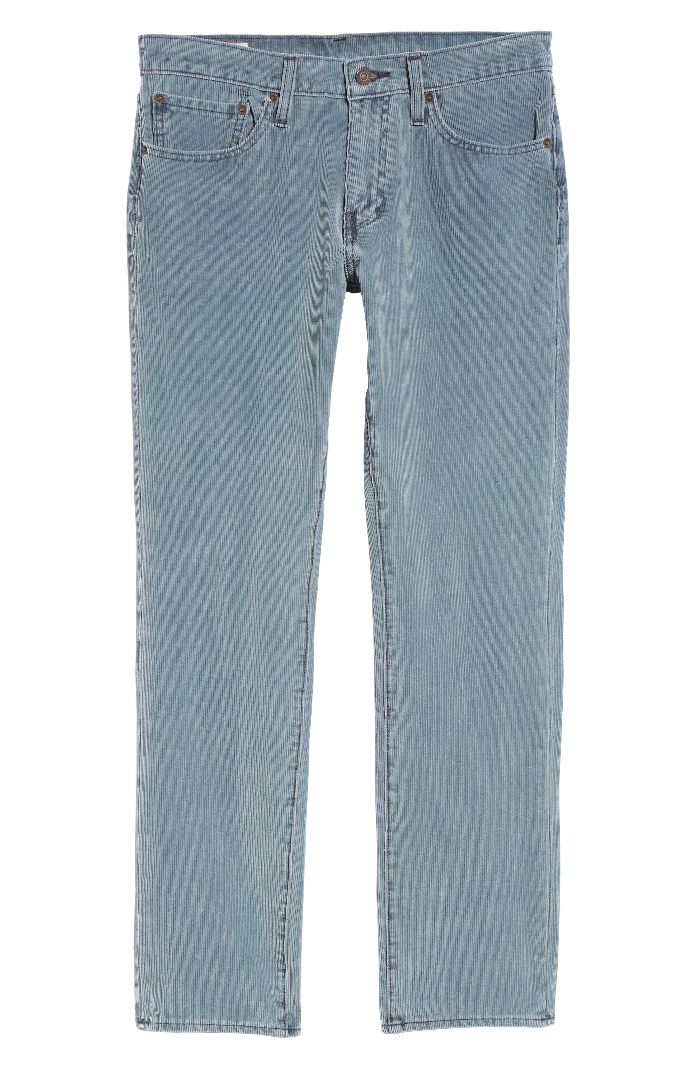 511<sup>™</sup> Slim Fit Corduroy Jeans,                             Alternate thumbnail 6, color,                             OMBRE BLUE WARP CORDUROY
