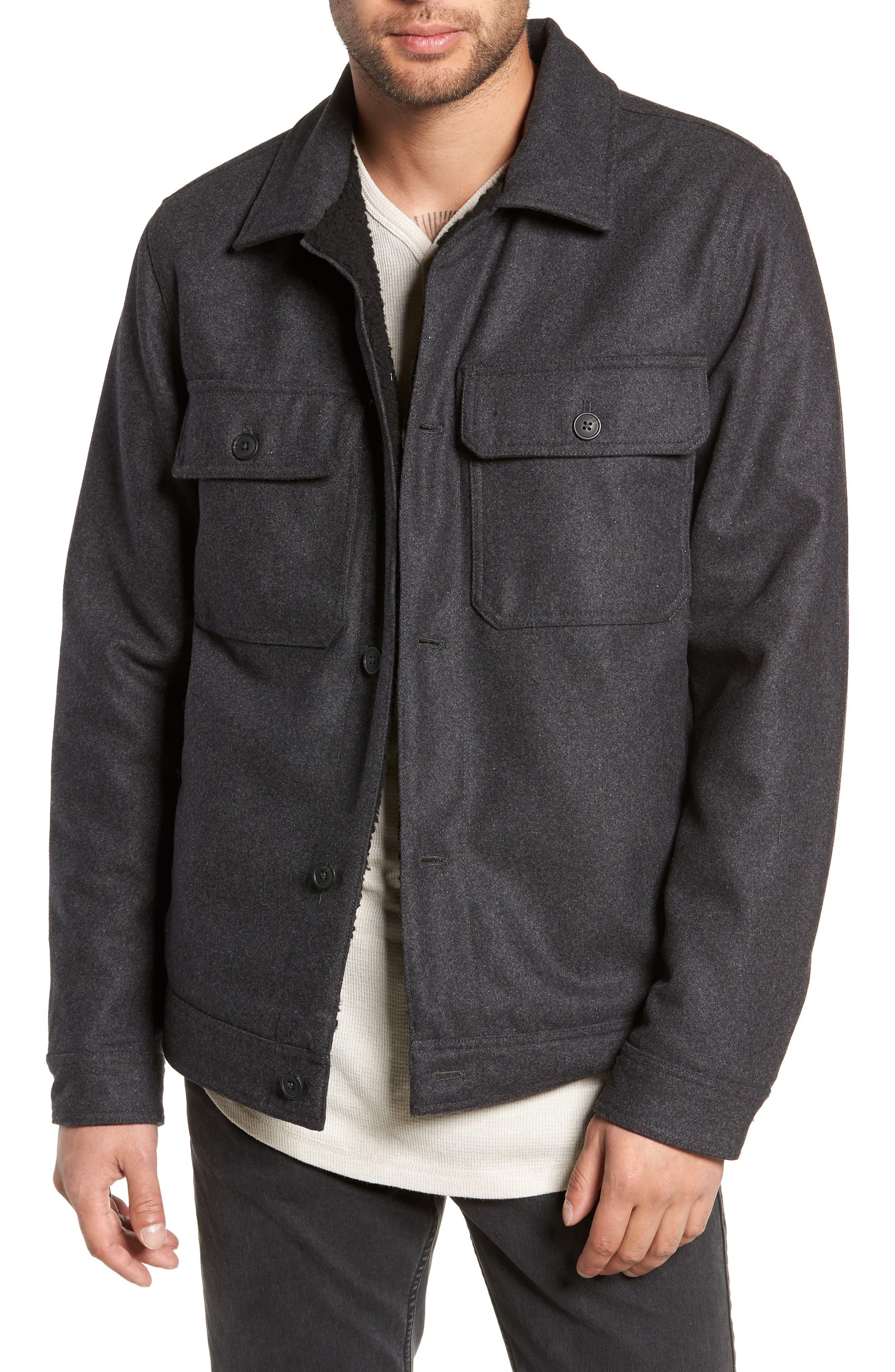 Rossmore Jacket,                             Main thumbnail 1, color,                             ASPHALT