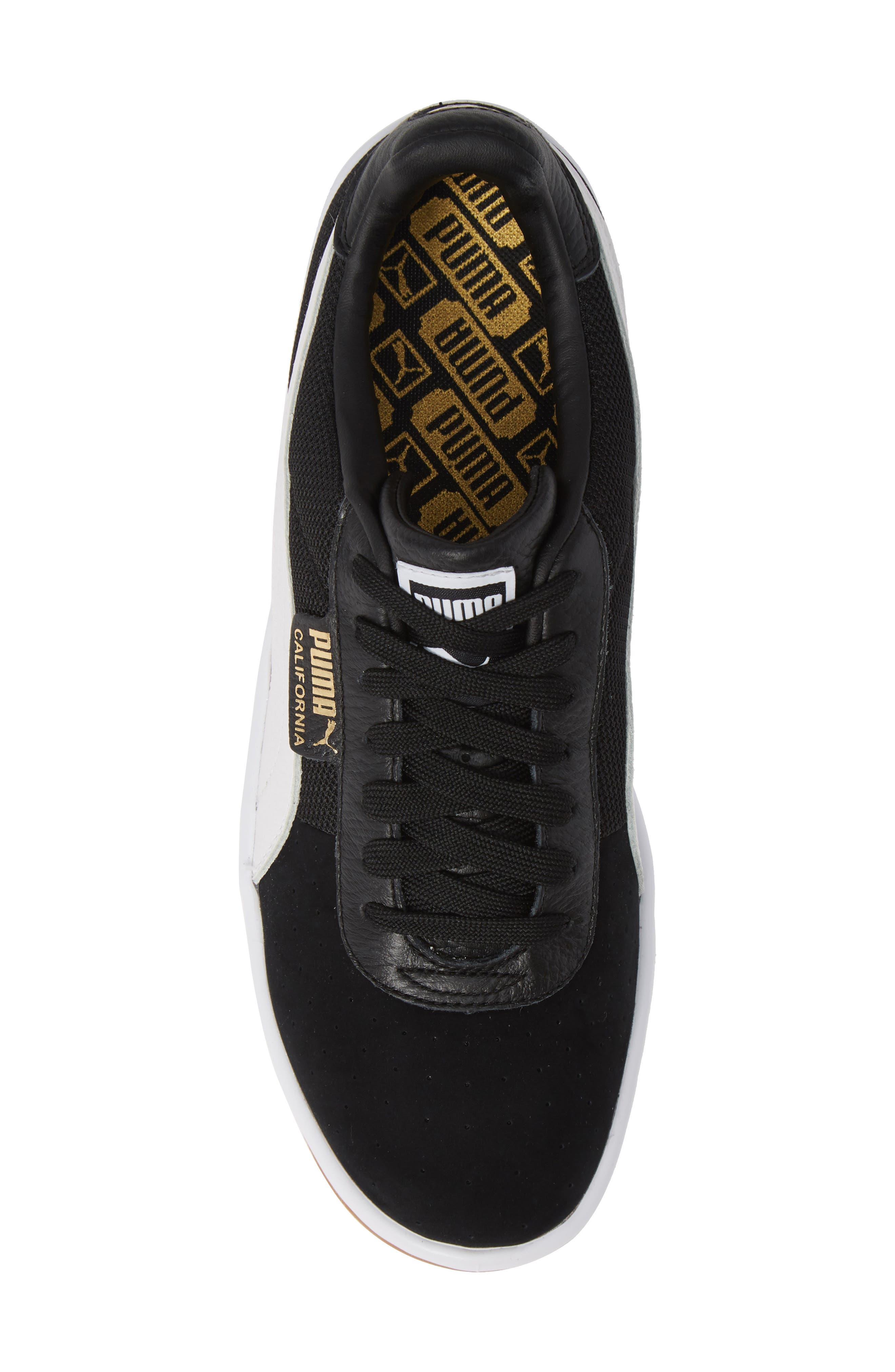 PUMA,                             California Casual Sneaker,                             Alternate thumbnail 5, color,                             001