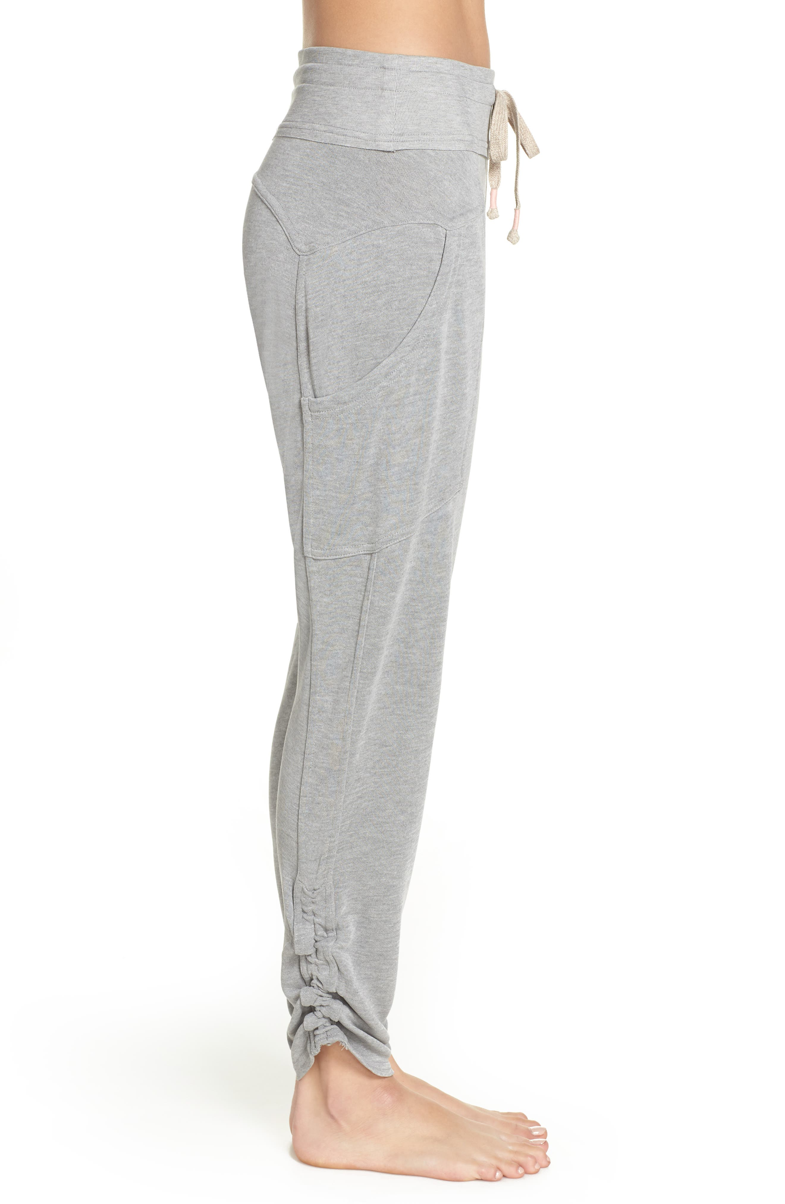 Free People FP Movement Ready Go Jogger Pants,                             Alternate thumbnail 3, color,                             GREY COMBO