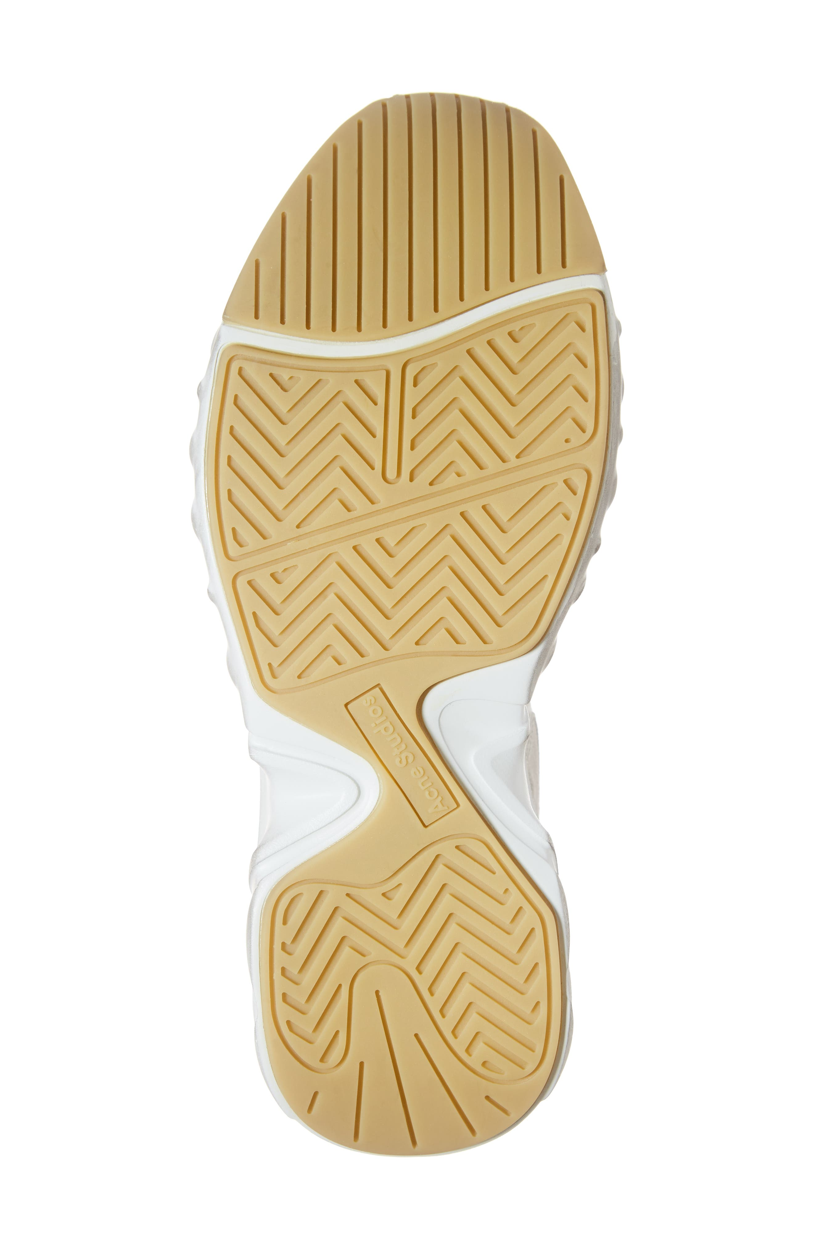 Rockaway Built-Up Sneaker,                             Alternate thumbnail 6, color,                             WHITE