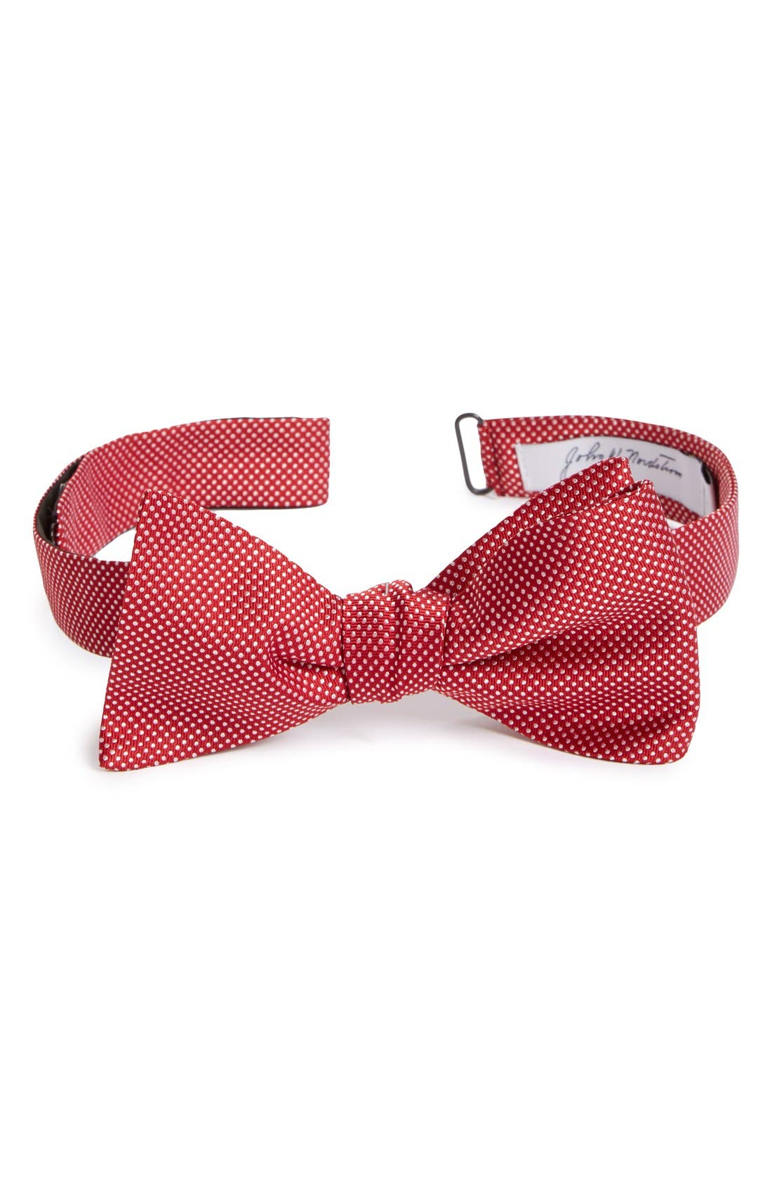Dot Silk Bow Tie,                             Main thumbnail 8, color,