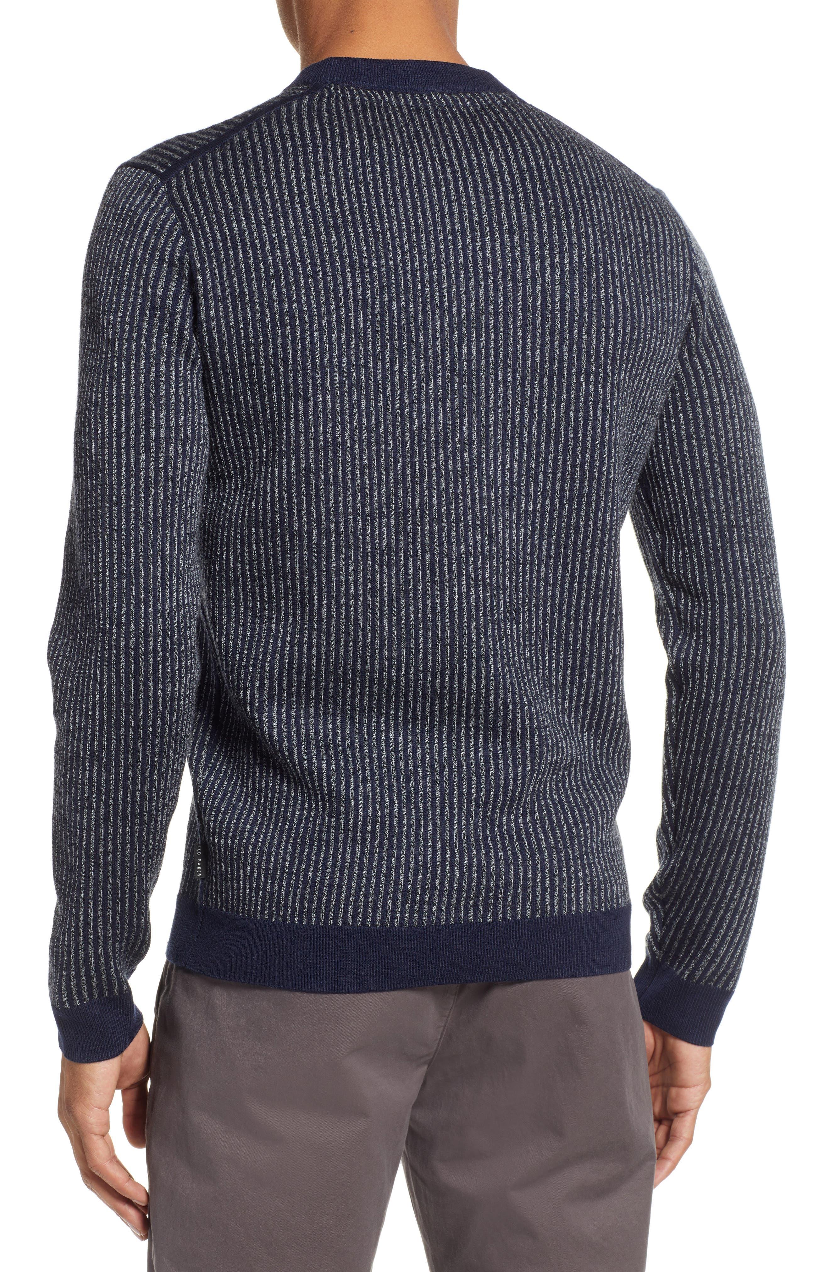 Jinxitt Crewneck Sweater,                             Alternate thumbnail 2, color,                             NAVY