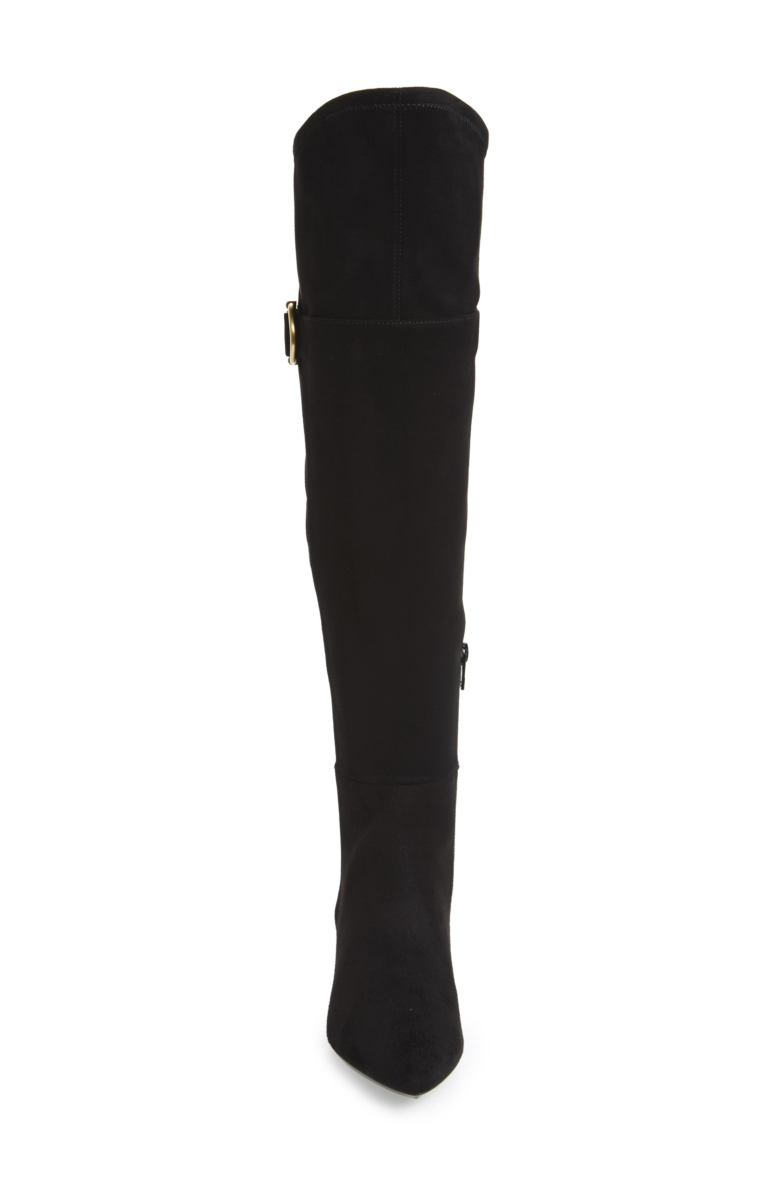 Georgeanna Over the Knee Boot,                             Alternate thumbnail 4, color,                             001