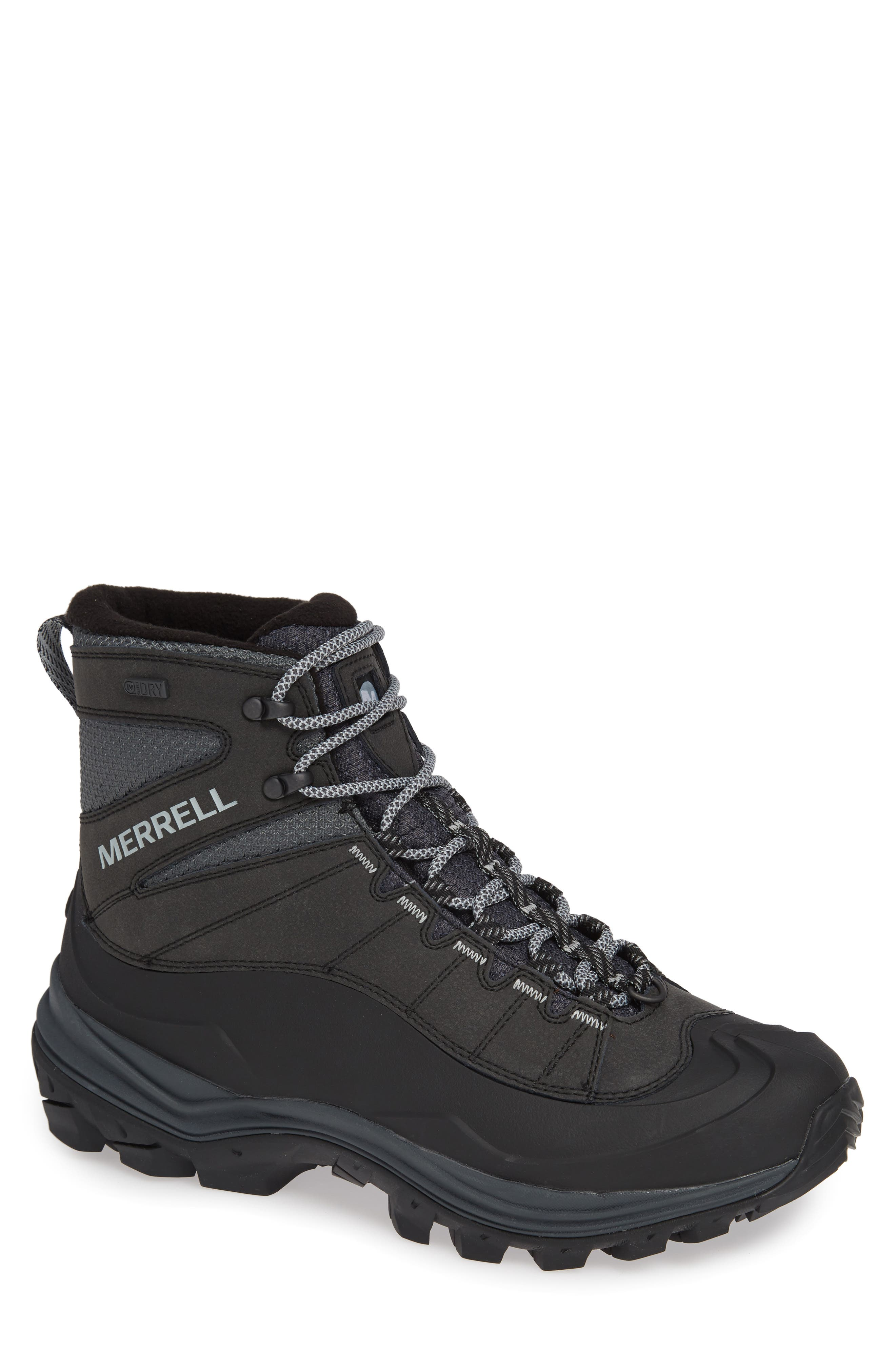Thermo Chill Waterproof Snow Boot,                         Main,                         color, BLACK