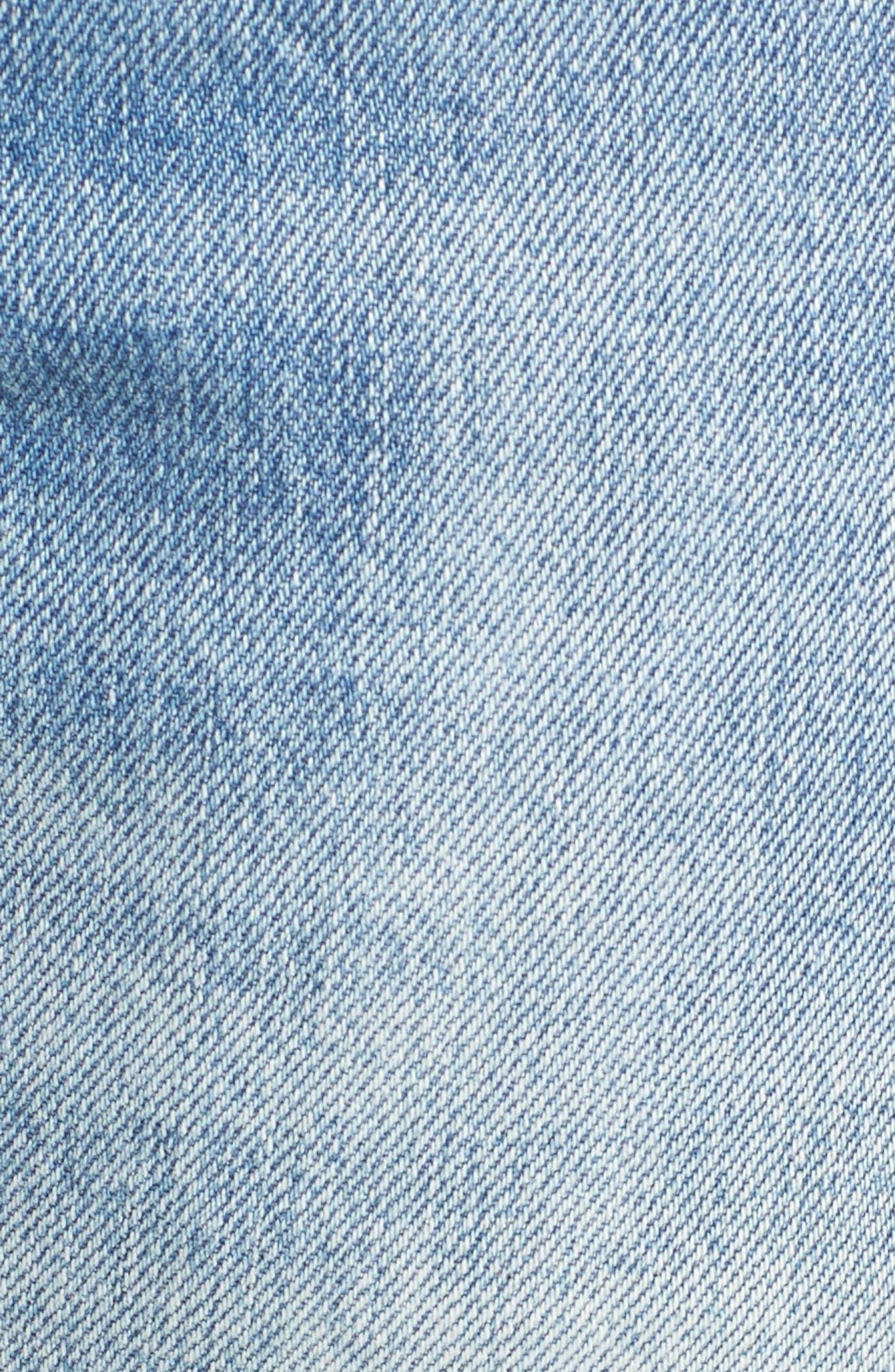 505<sup>™</sup>C Crop Straight Leg Jeans,                             Alternate thumbnail 5, color,                             450