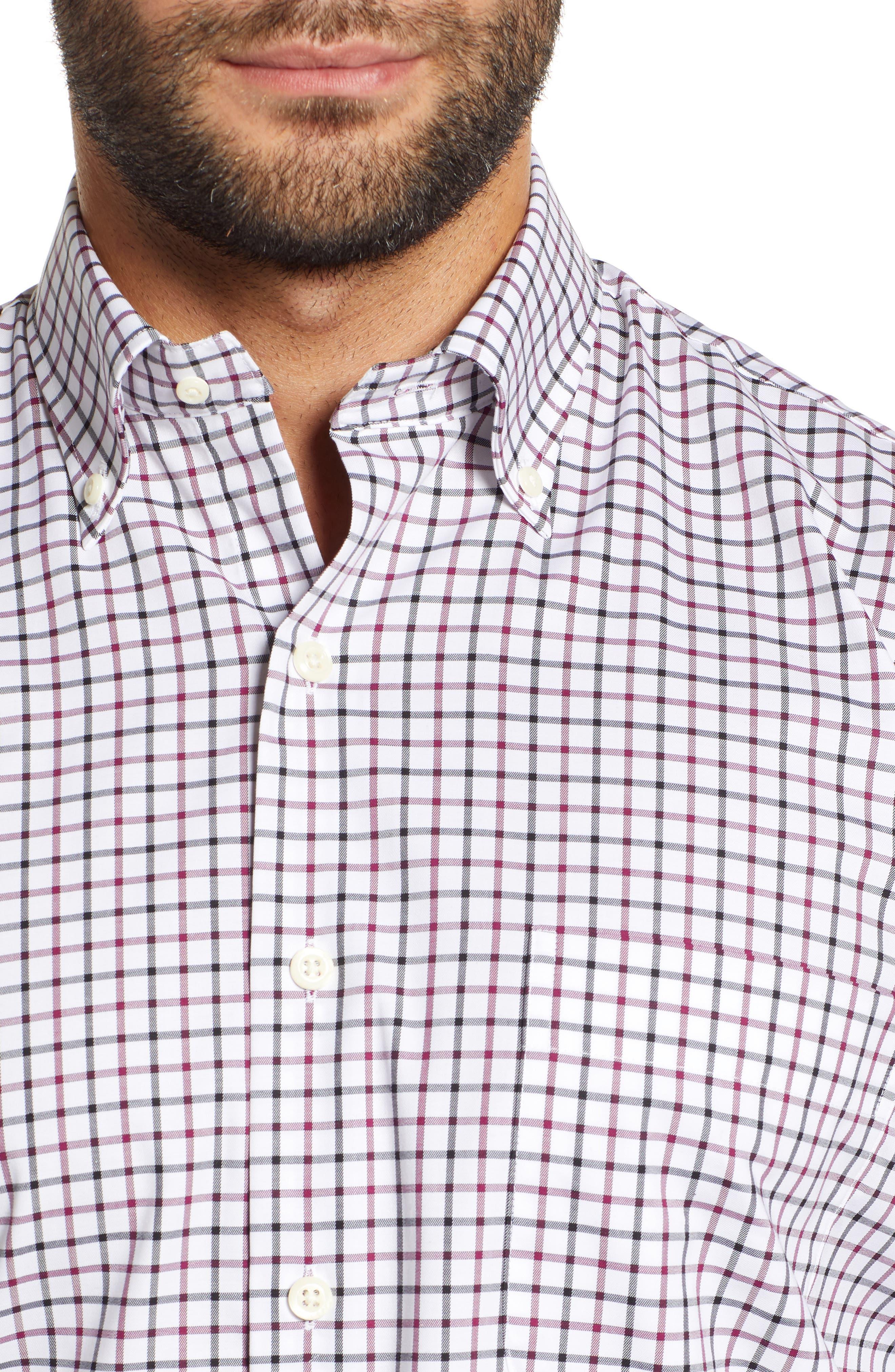 Crown Ease Malta Regular Fit Tattersall Sport Shirt,                             Alternate thumbnail 2, color,                             688