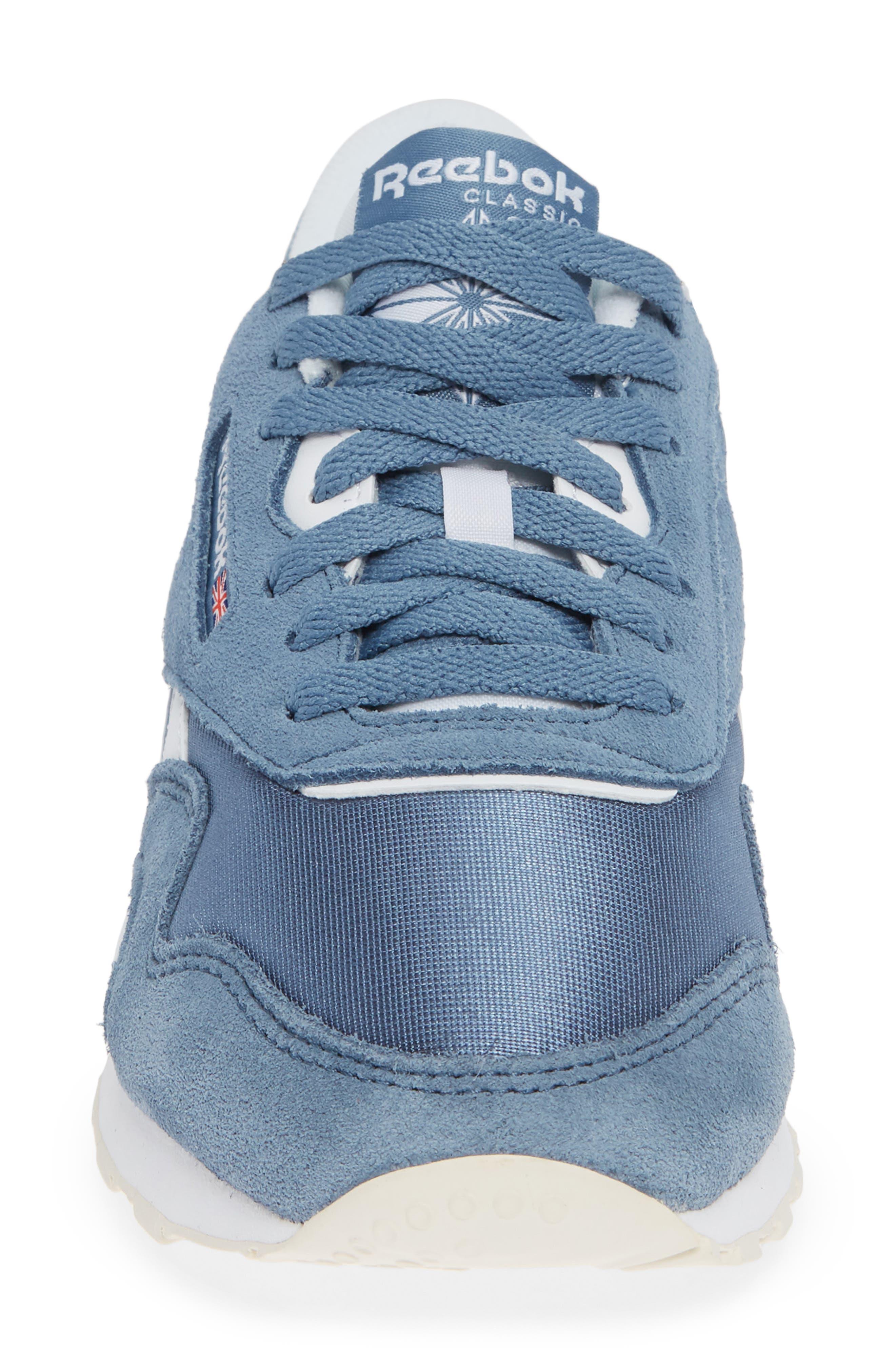Classic Sneaker,                             Alternate thumbnail 4, color,                             BLUE SLATE/ WHITE/ CHALK