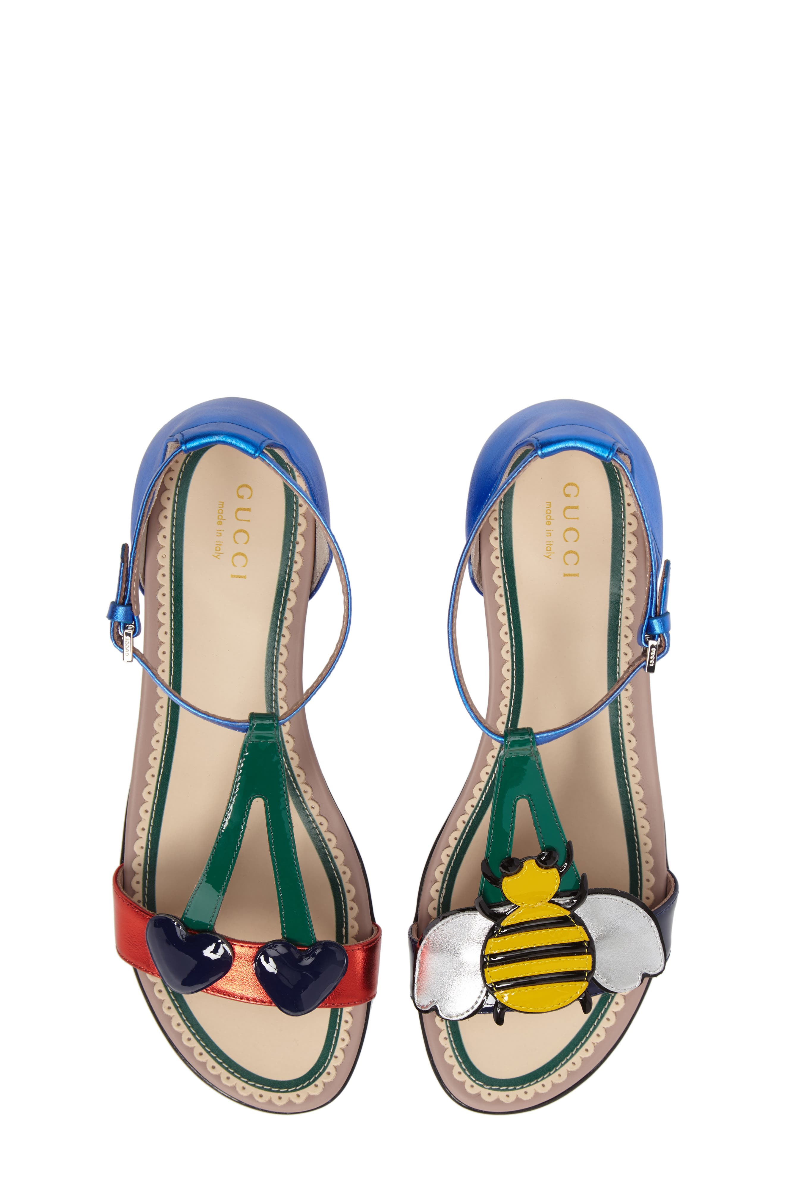 Bee & Cherry Sandal,                             Alternate thumbnail 5, color,                             400