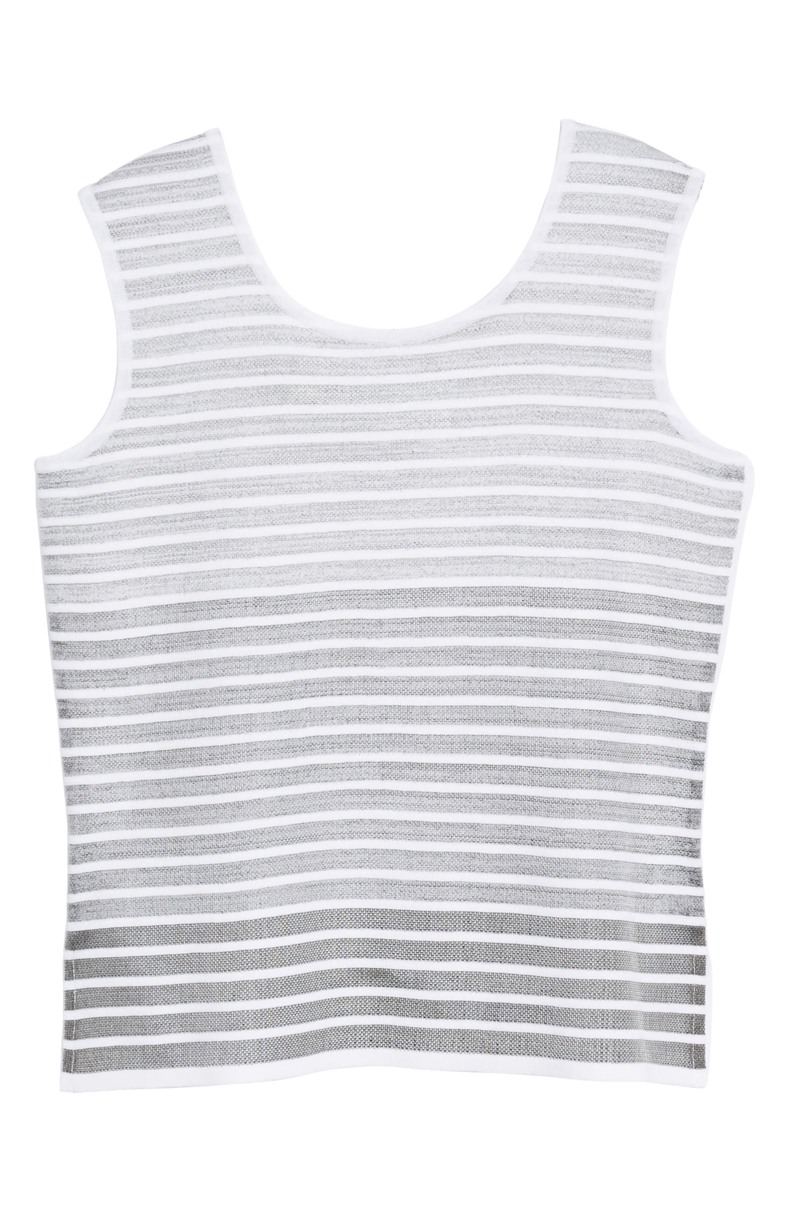 Reversible Knit Tank,                             Alternate thumbnail 6, color,                             102