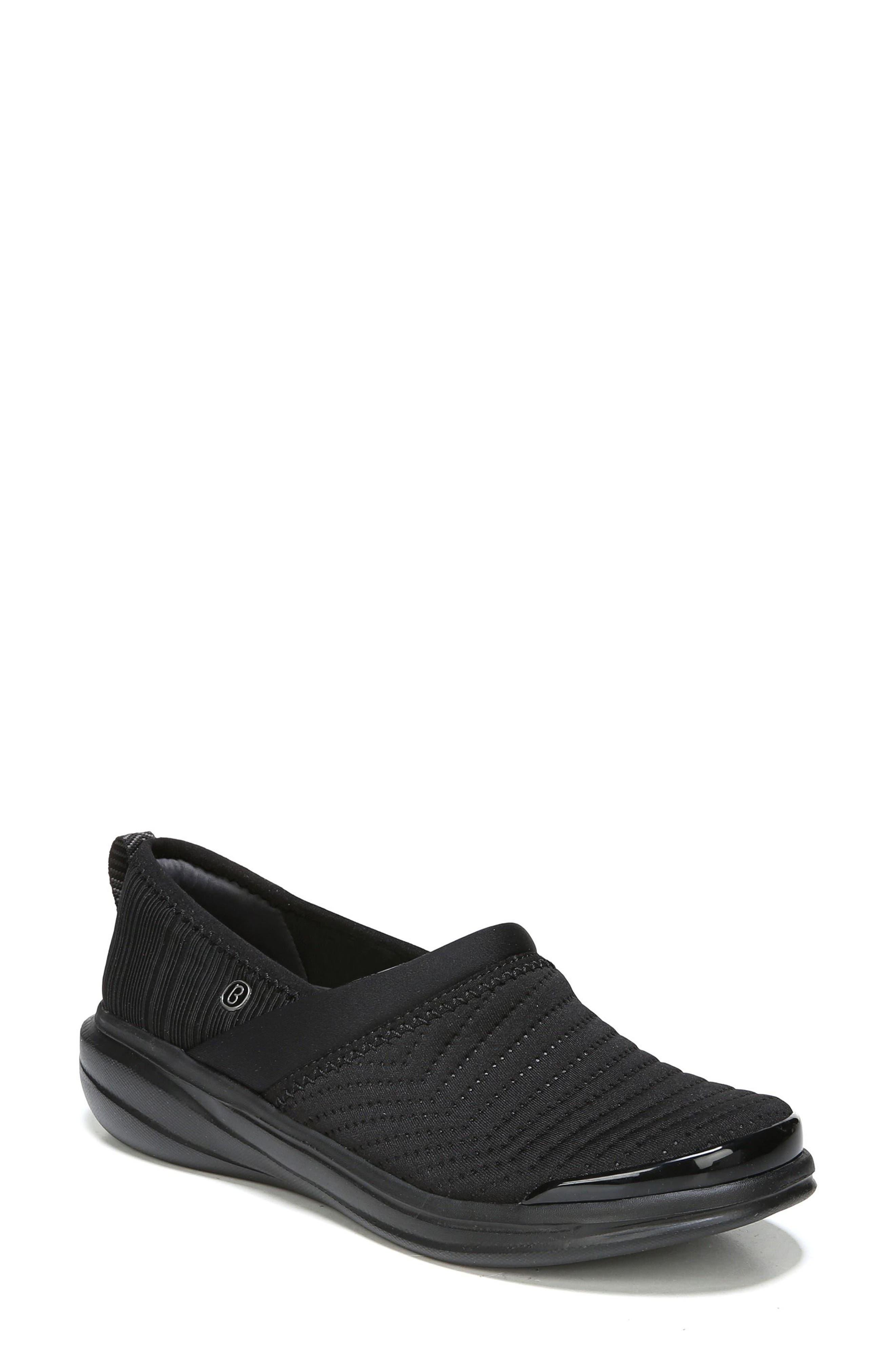 Coco Slip-On Sneaker,                             Main thumbnail 1, color,                             BLACK FABRIC