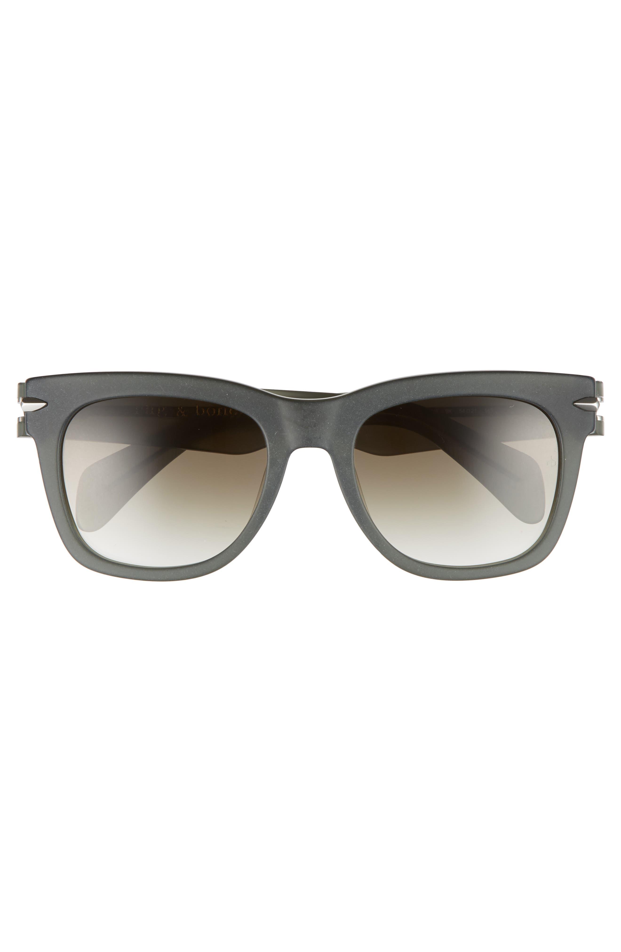 54mm Polarized Sunglasses,                             Alternate thumbnail 3, color,                             KHAKI