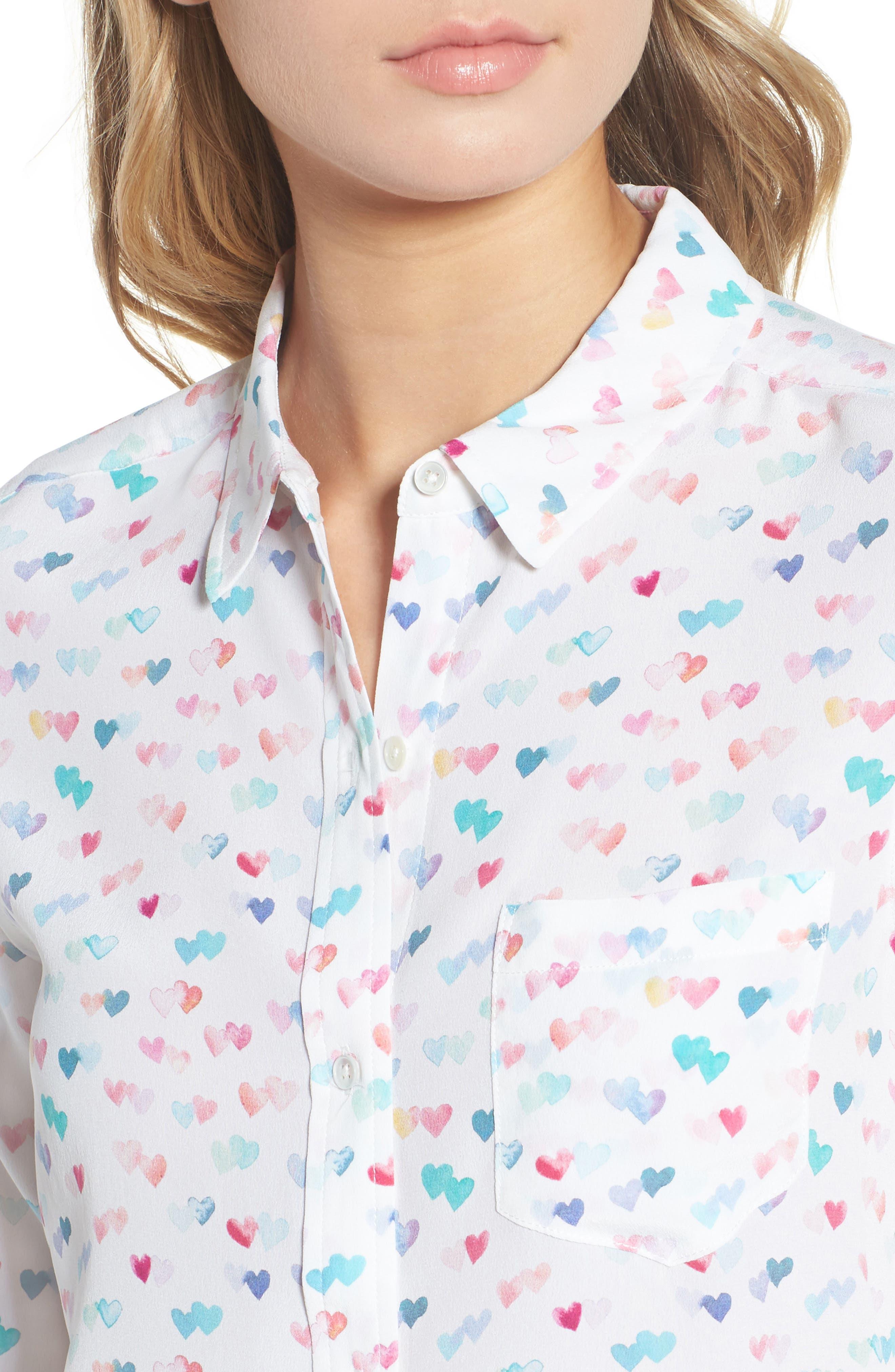 Kate Print Shirt,                             Alternate thumbnail 59, color,