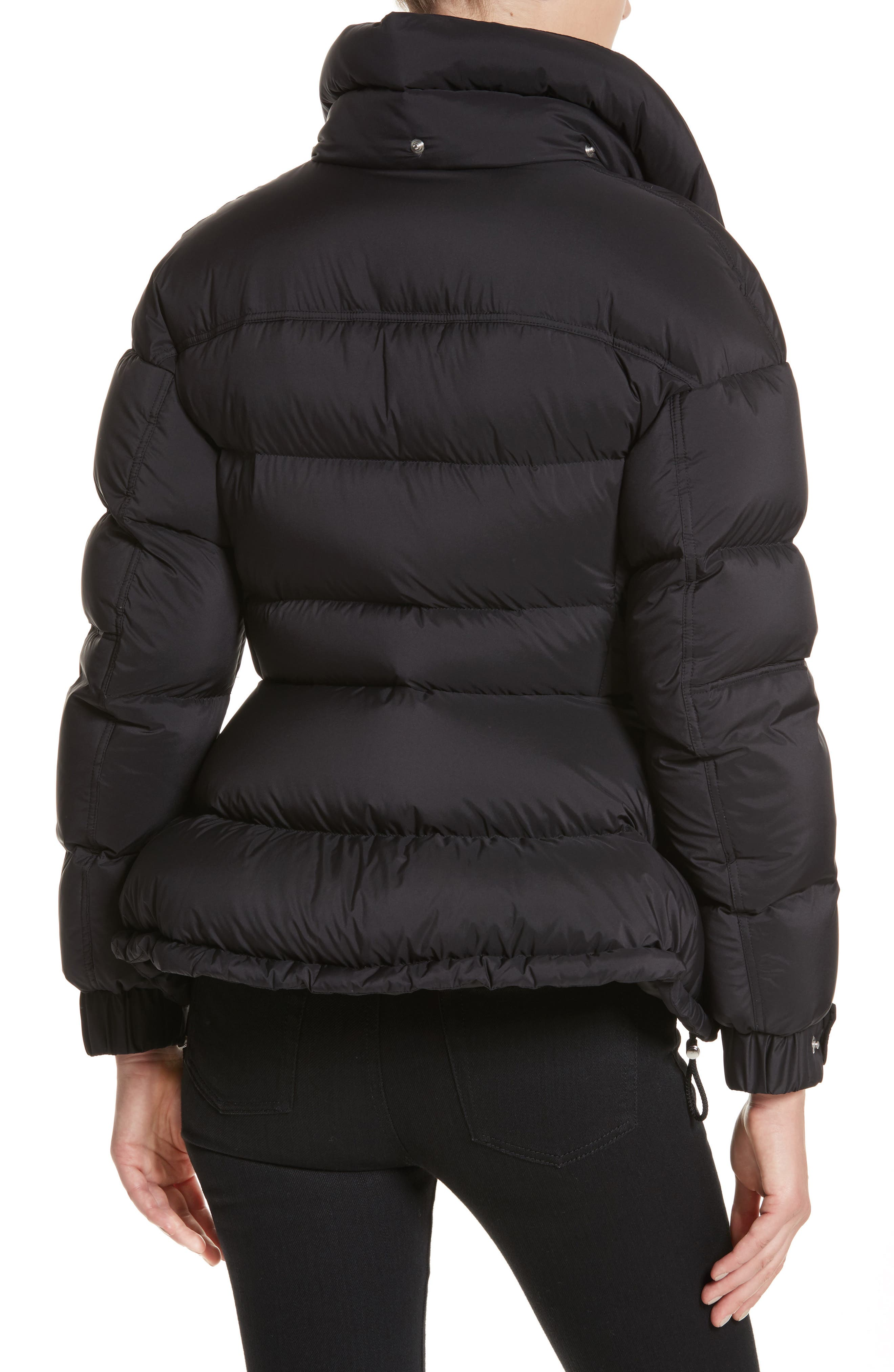 Fleetwood Hooded Down Puffer Jacket,                             Alternate thumbnail 4, color,                             001