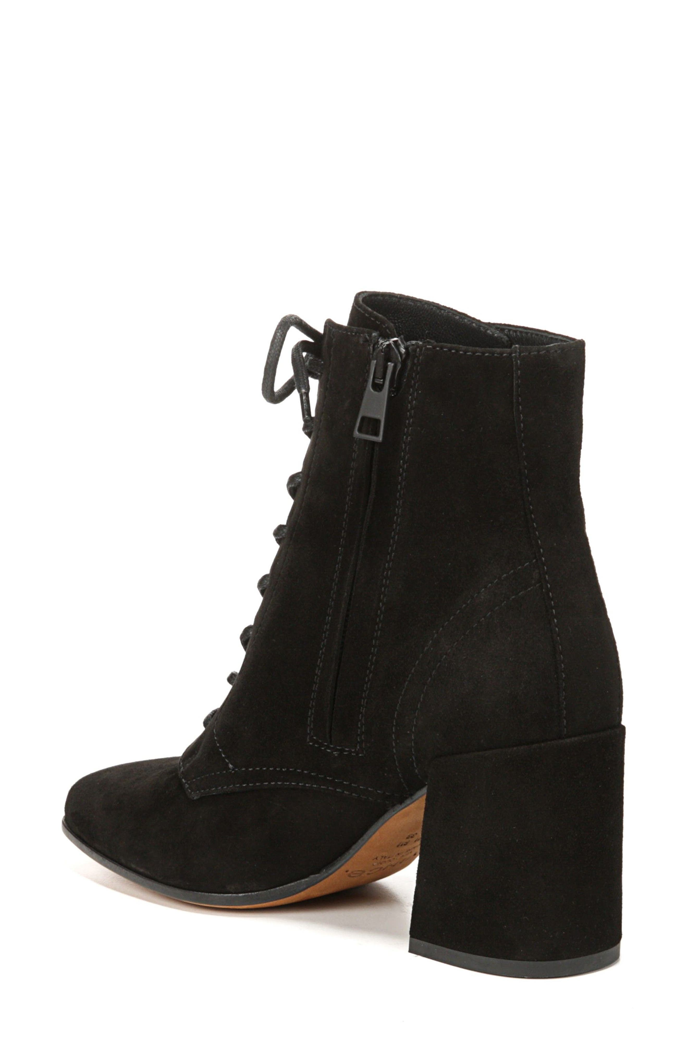 Halle Flare Heel Bootie,                             Alternate thumbnail 2, color,                             001
