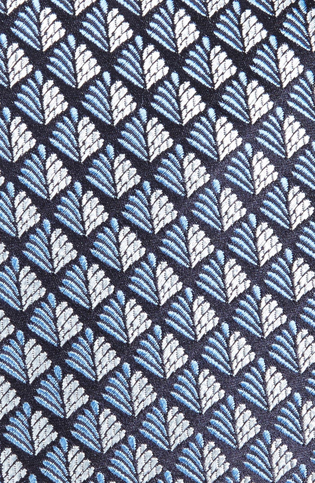 Geometric Silk Tie,                             Alternate thumbnail 2, color,                             438