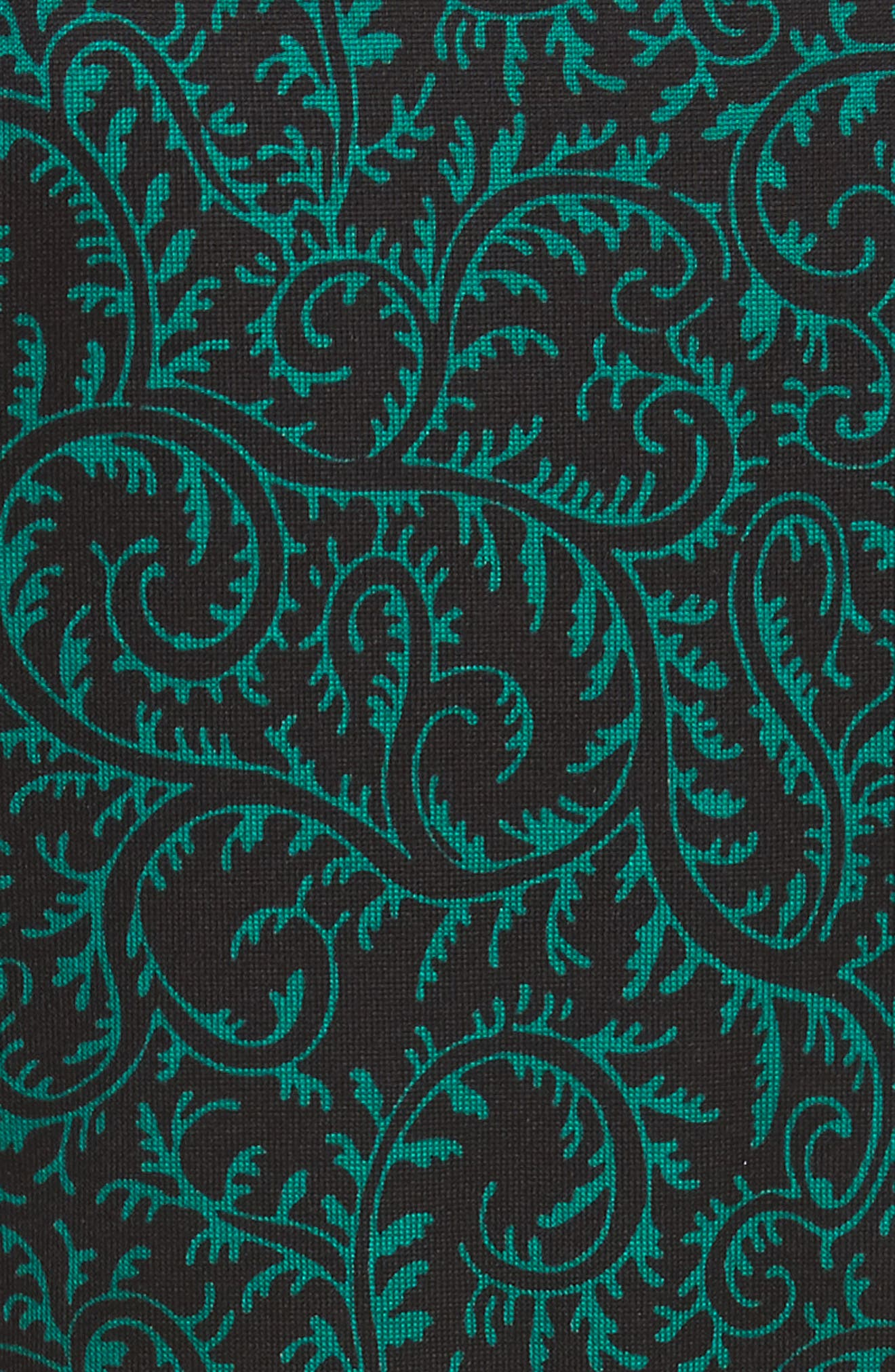 Diane von Furstenberg Flutter Sleeve Silk Wrap Dress,                             Alternate thumbnail 19, color,