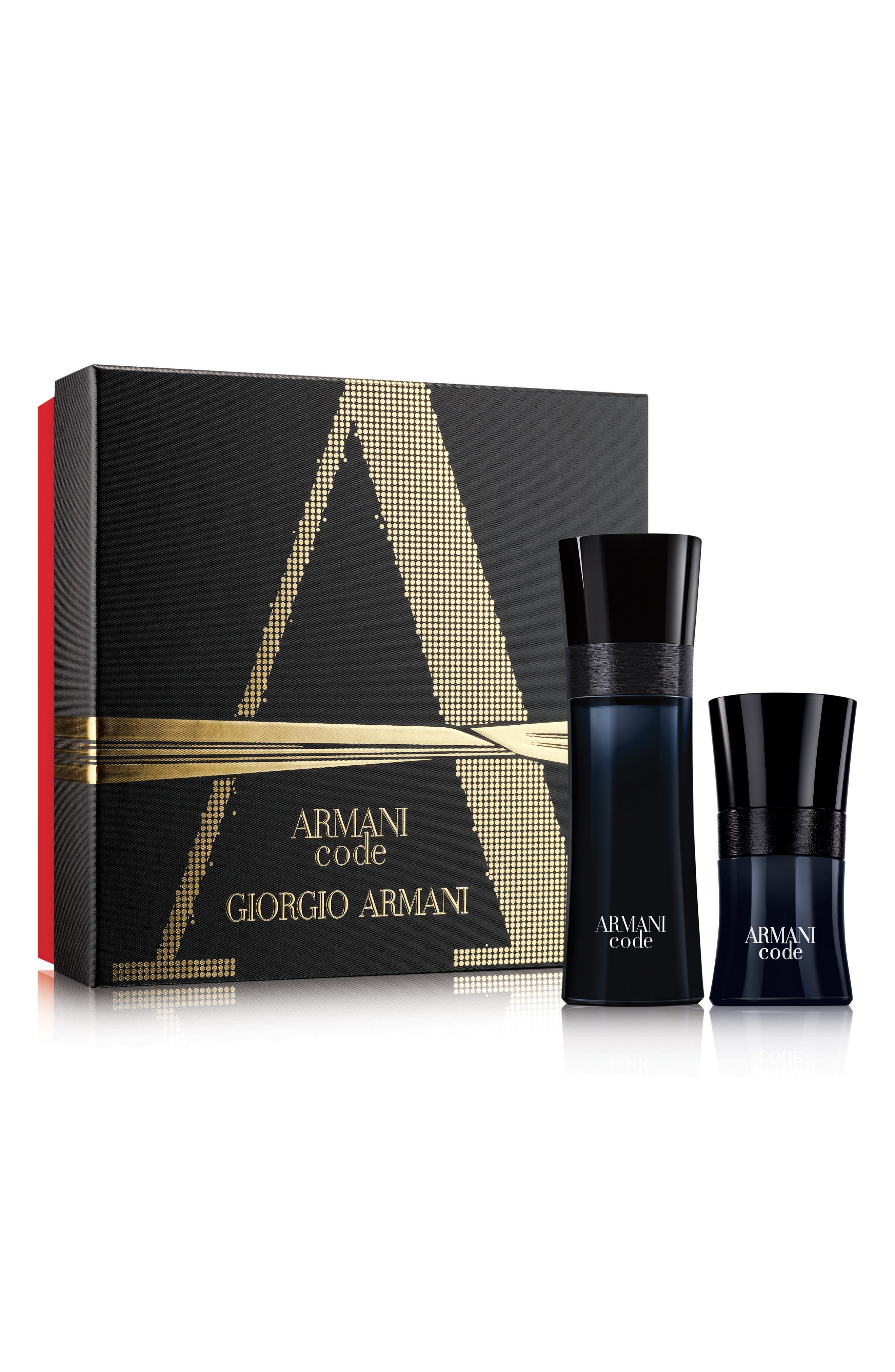 Armani Code Eau de Toilette Set,                             Main thumbnail 1, color,                             000