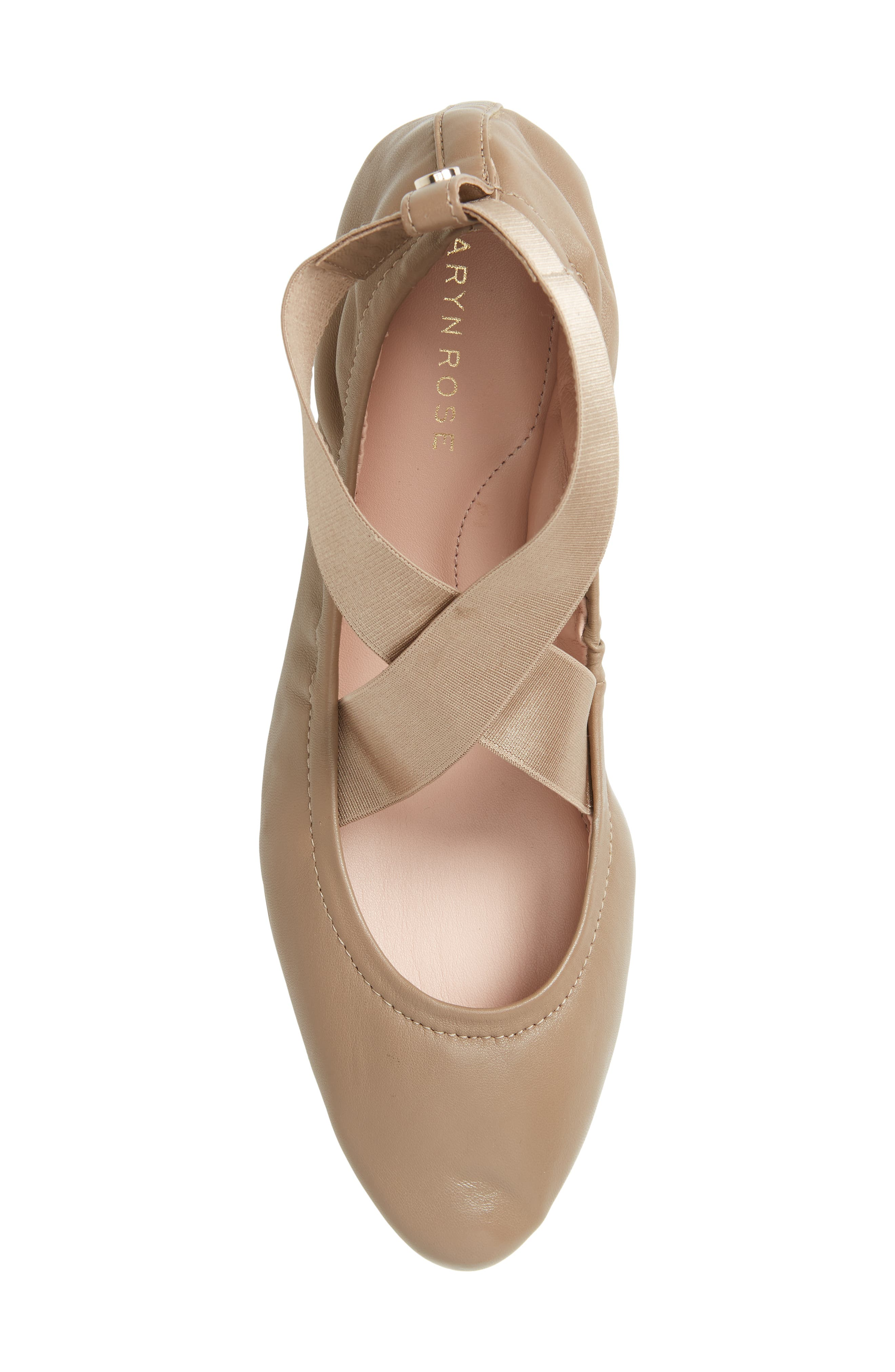 Edina Strappy Ballet Flat,                             Alternate thumbnail 5, color,                             260