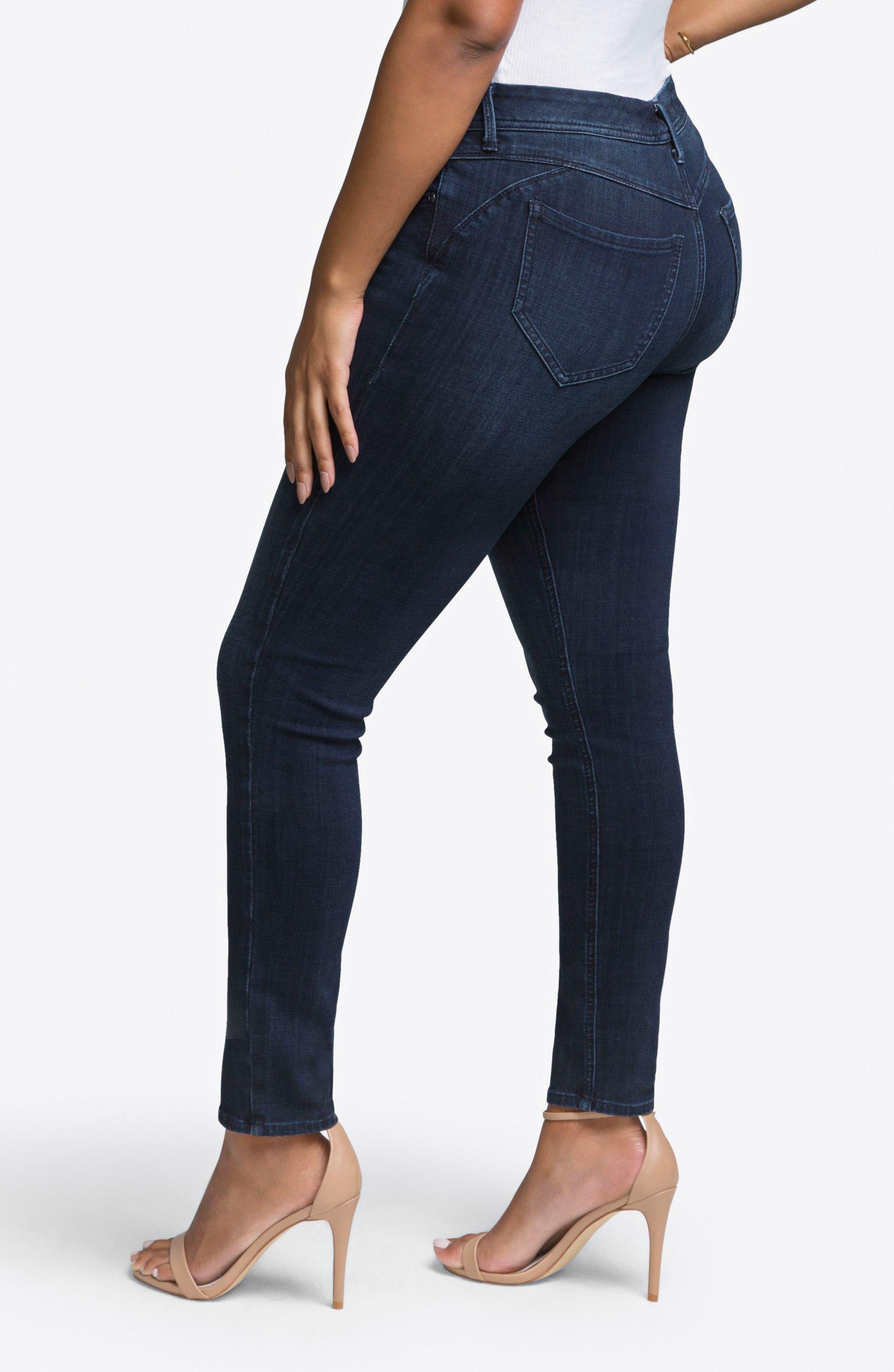 Skinny Jeans,                             Alternate thumbnail 3, color,                             JULIUS