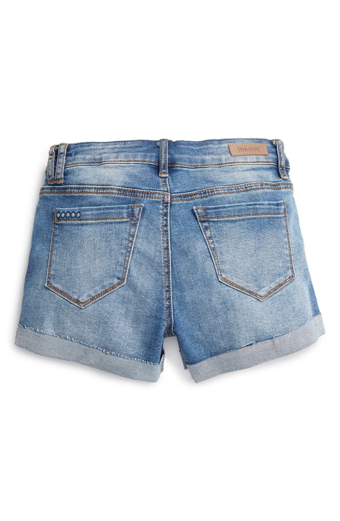 Distressed Roll Cuff Shorts,                             Alternate thumbnail 2, color,                             400