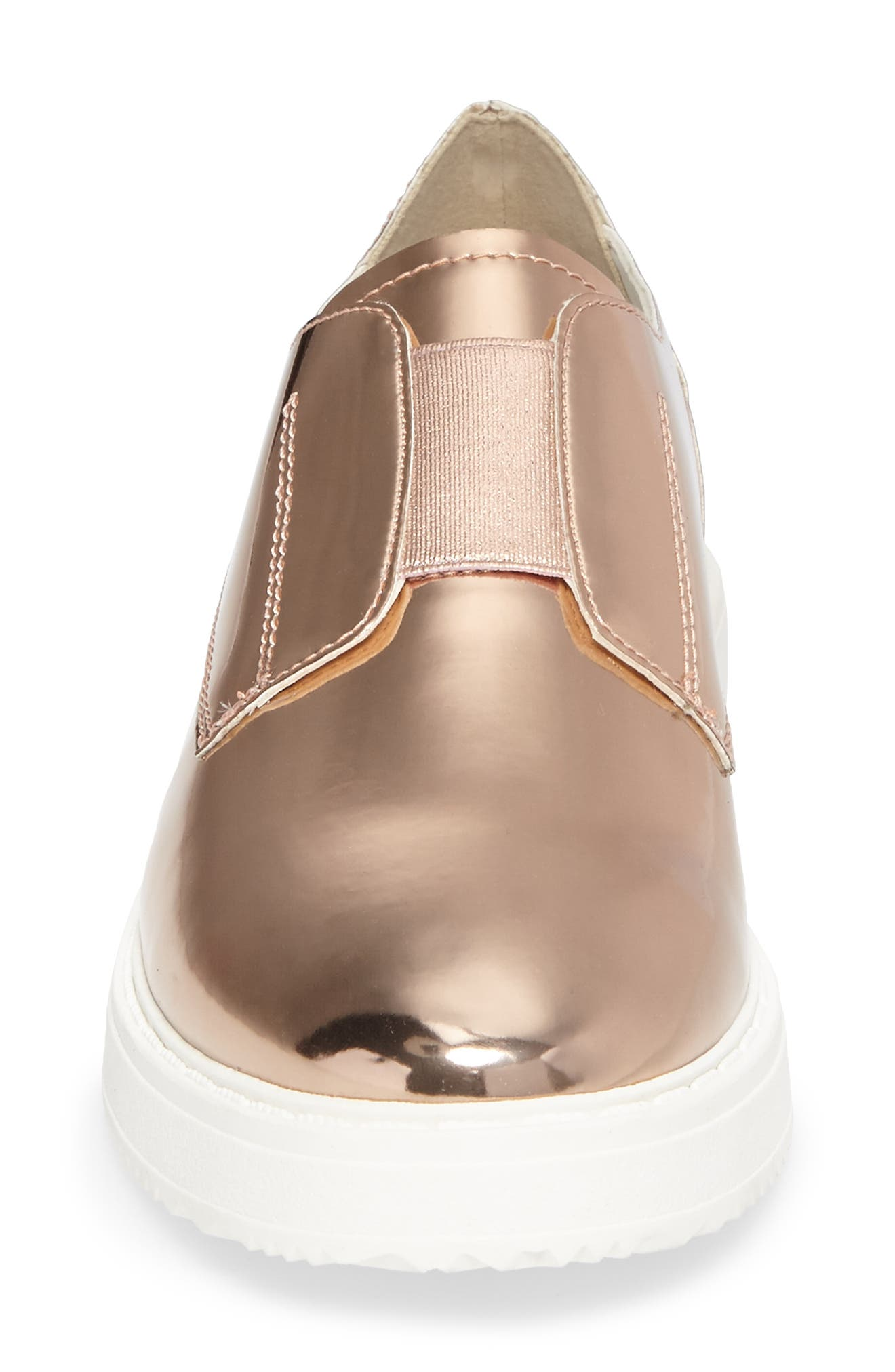 Trist Slip-On Metallic Sneaker,                             Alternate thumbnail 8, color,