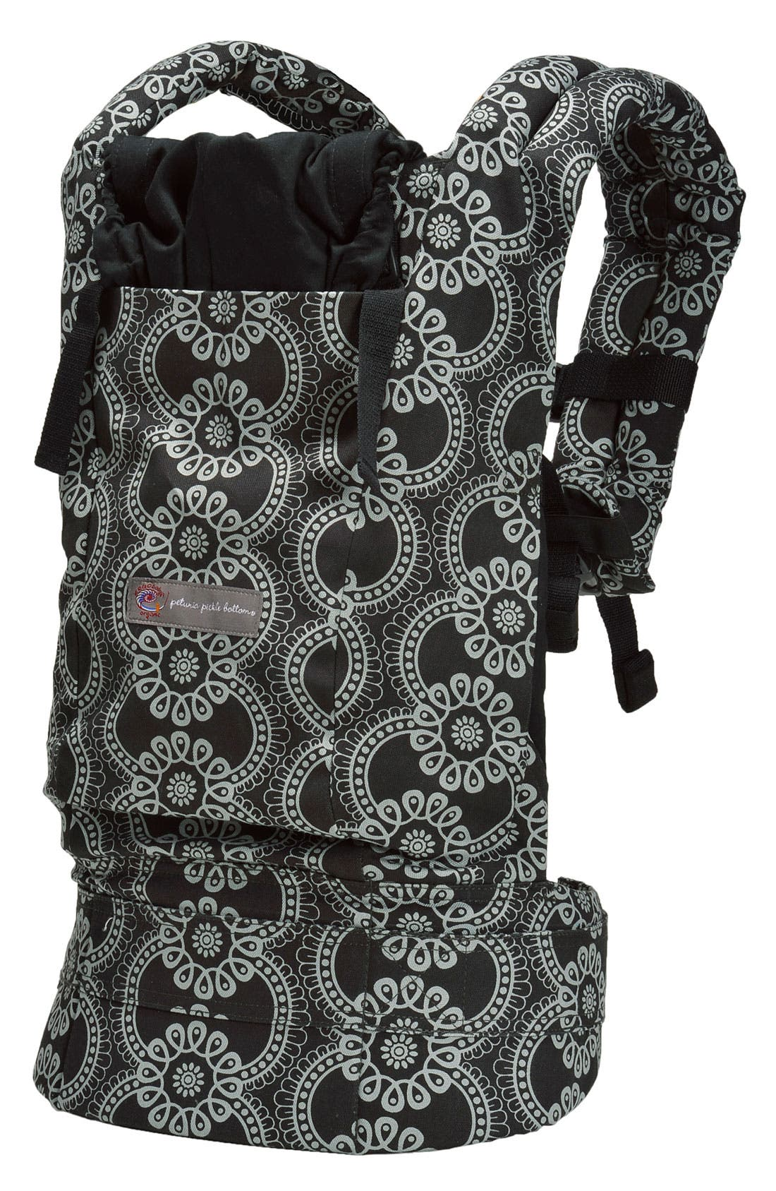 Baby Carrier with Petunia Pickle Bottom Print,                         Main,                         color, 001