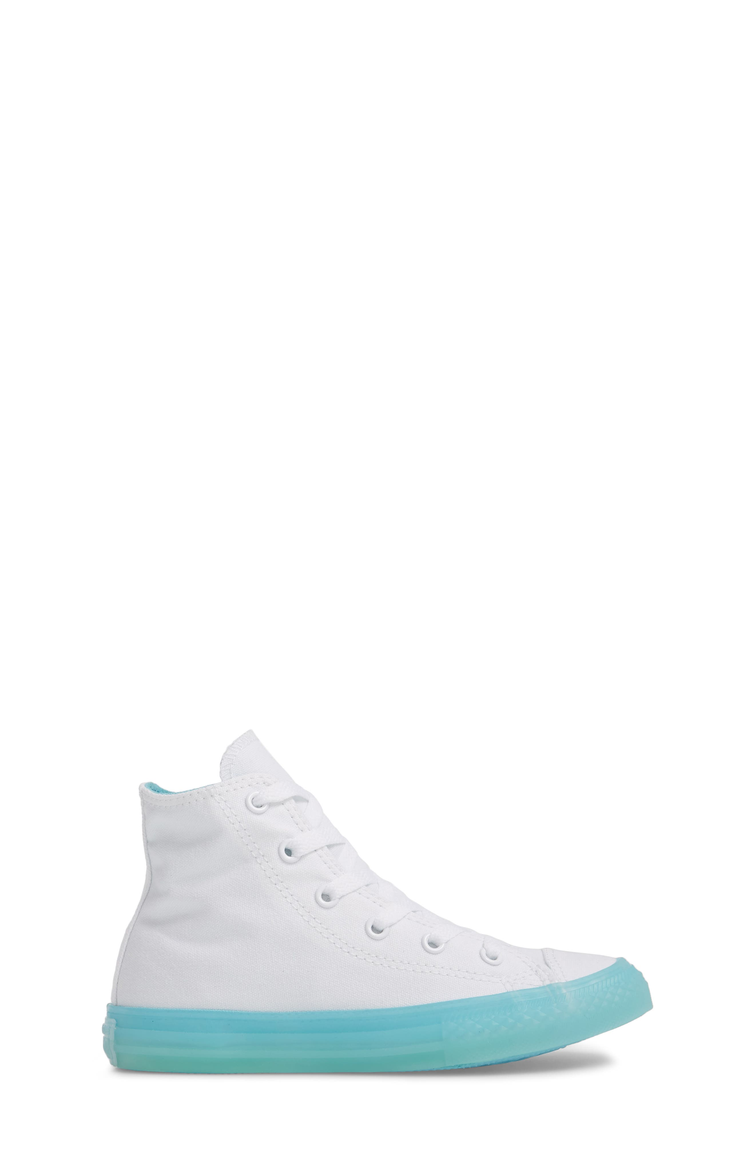 Chuck Taylor<sup>®</sup> All Star<sup>®</sup> Jelly High Top Sneaker,                             Alternate thumbnail 3, color,                             405