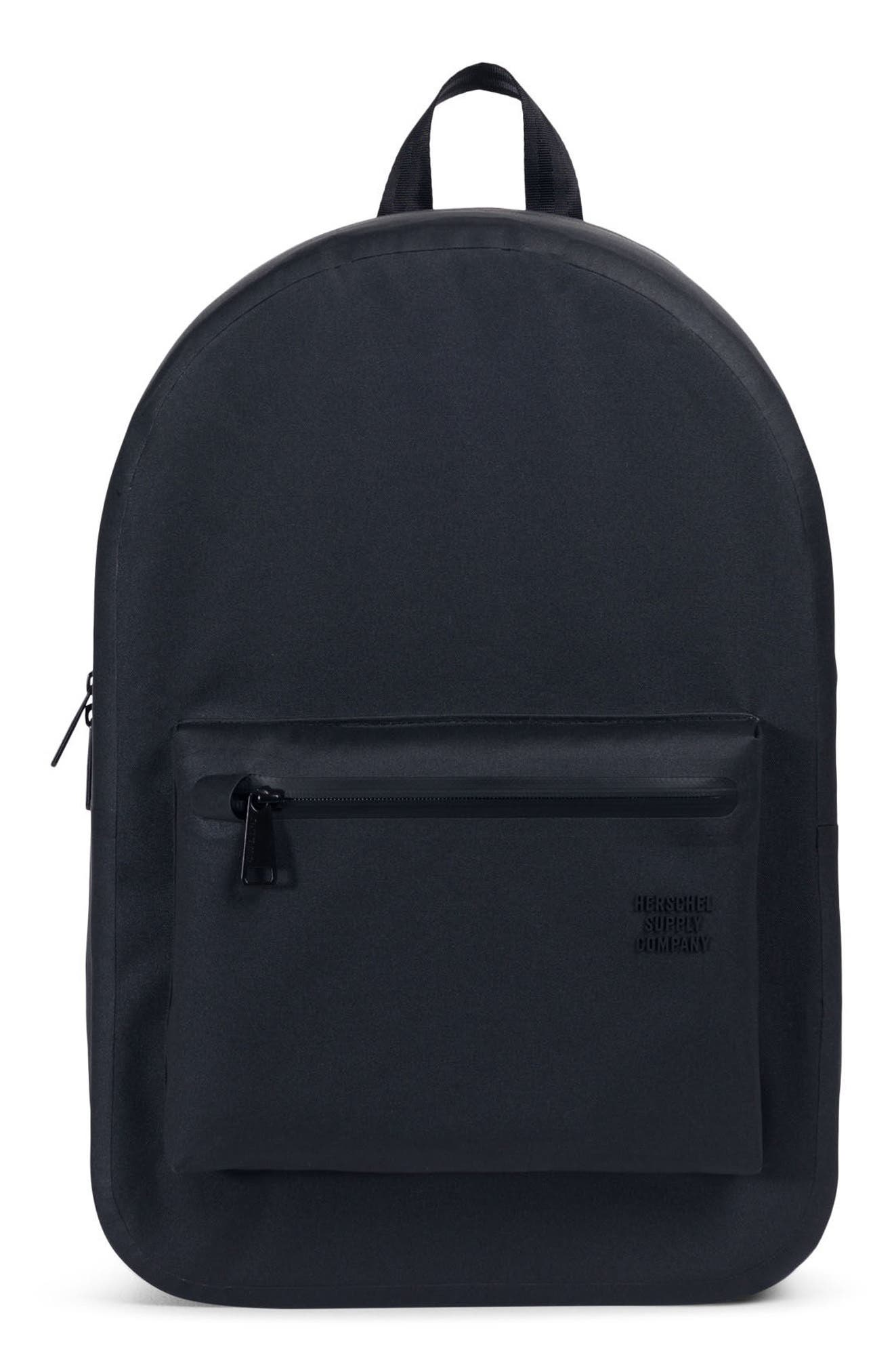 Settlement Studio Backpack,                         Main,                         color, BLACK