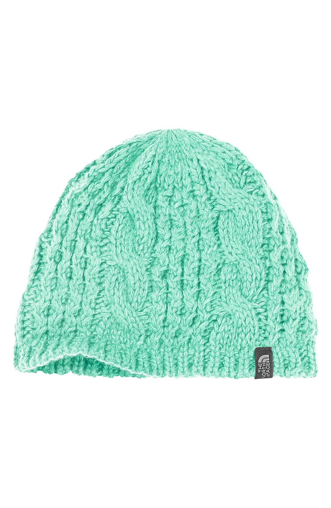 'Minna' Cable Knit Beanie,                             Main thumbnail 10, color,