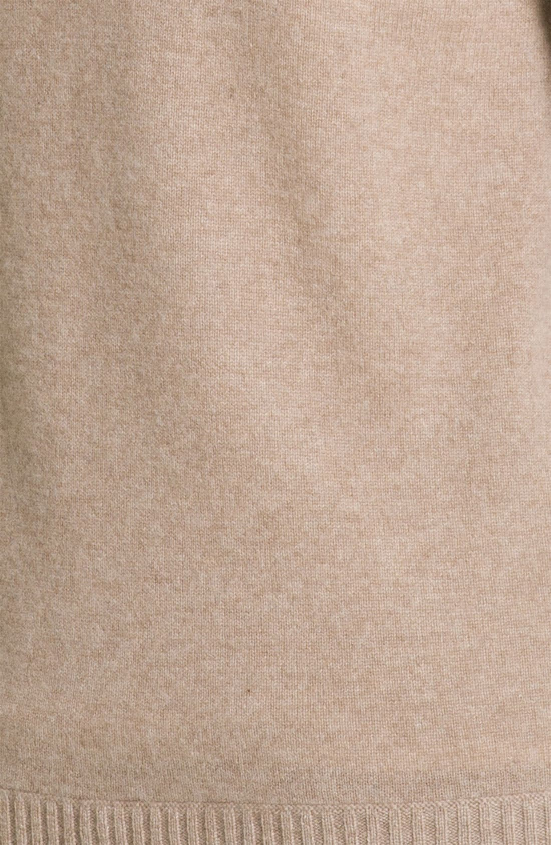 Shawl Collar Cashmere Cardigan,                             Alternate thumbnail 3, color,                             270