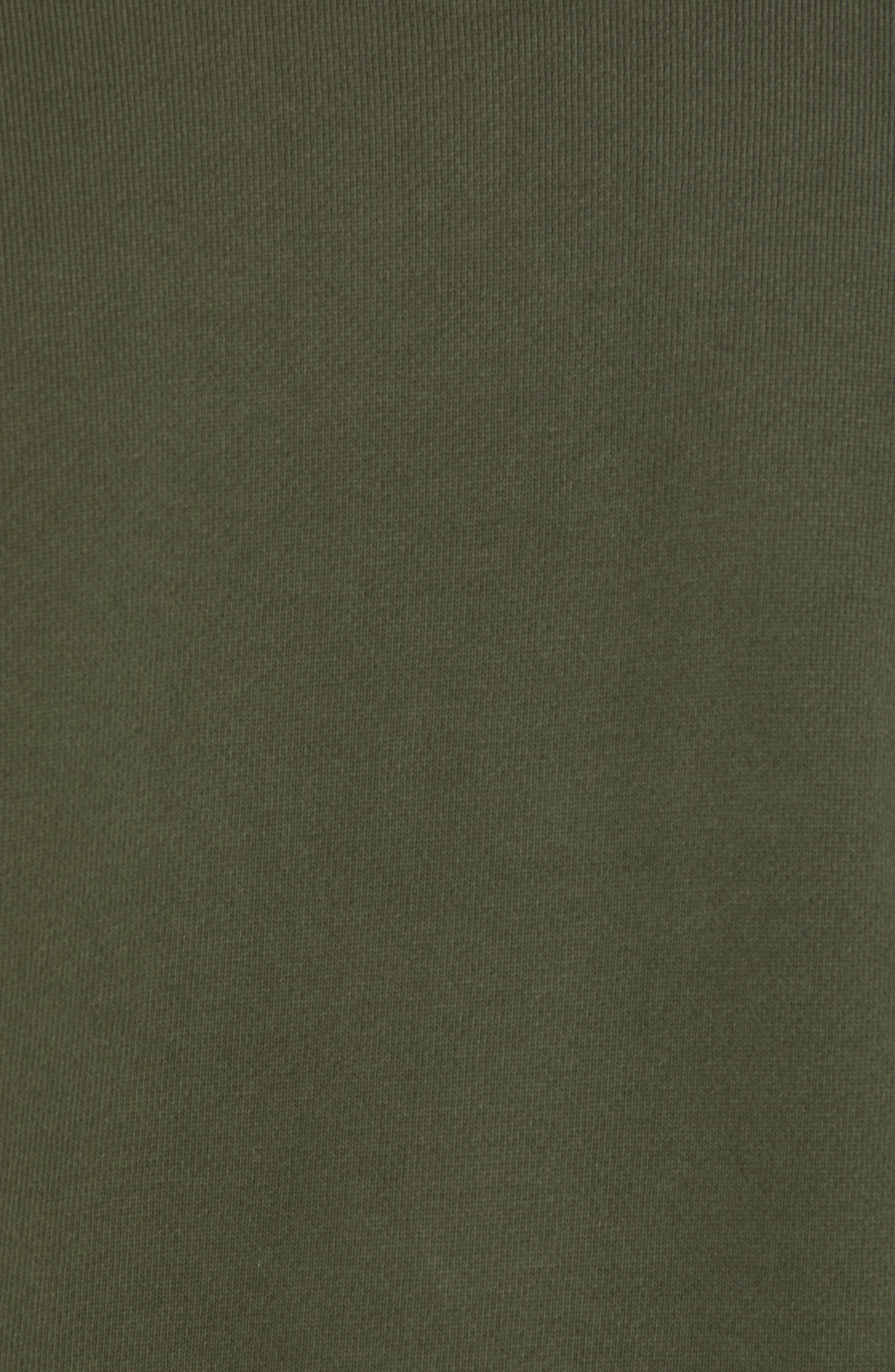 adidas Outline Trefoil Crewneck Sweatshirt,                             Alternate thumbnail 5, color,                             307