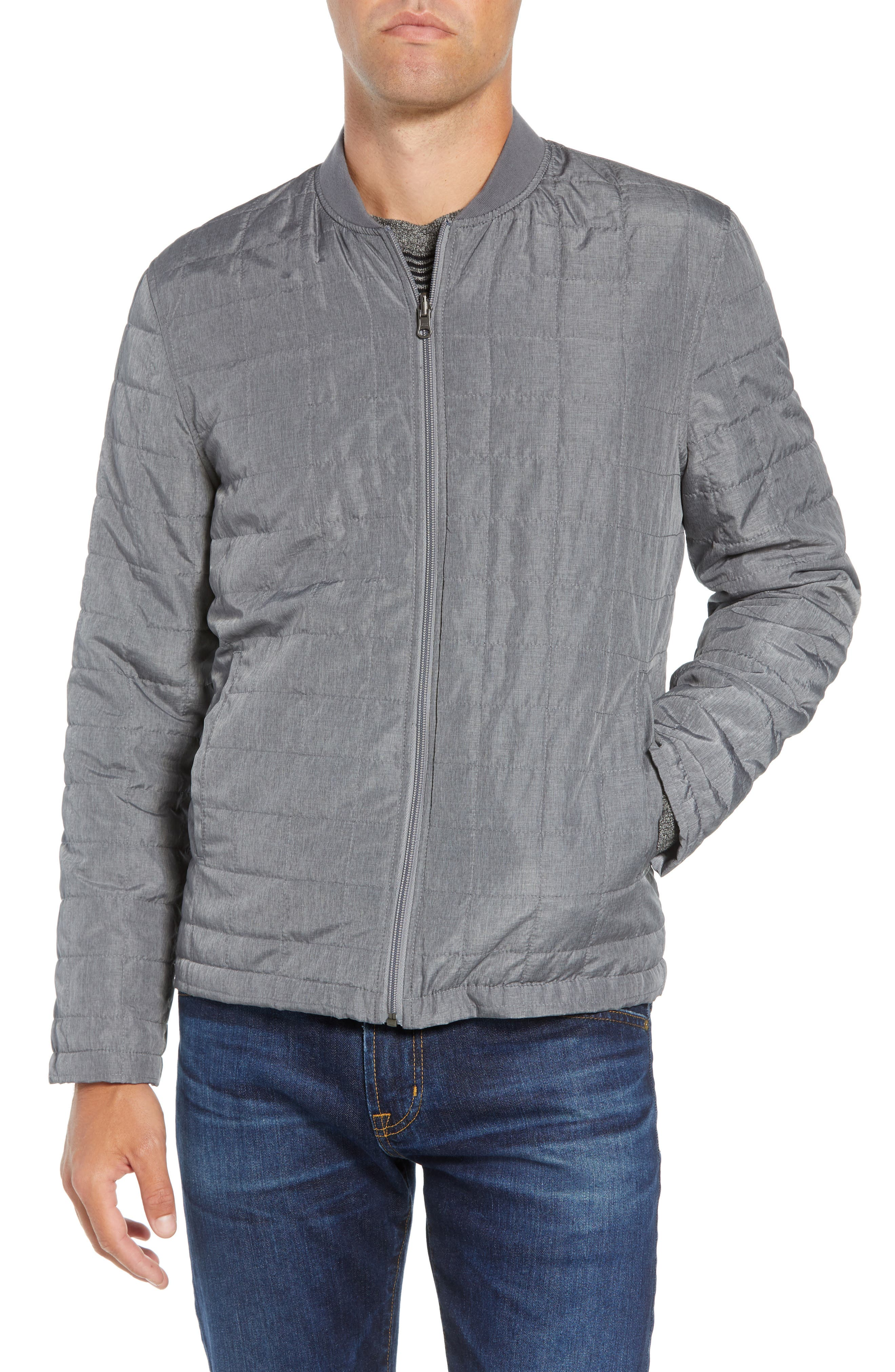 'Ethan' 3-in-1 Field Jacket,                             Alternate thumbnail 2, color,                             NAVY