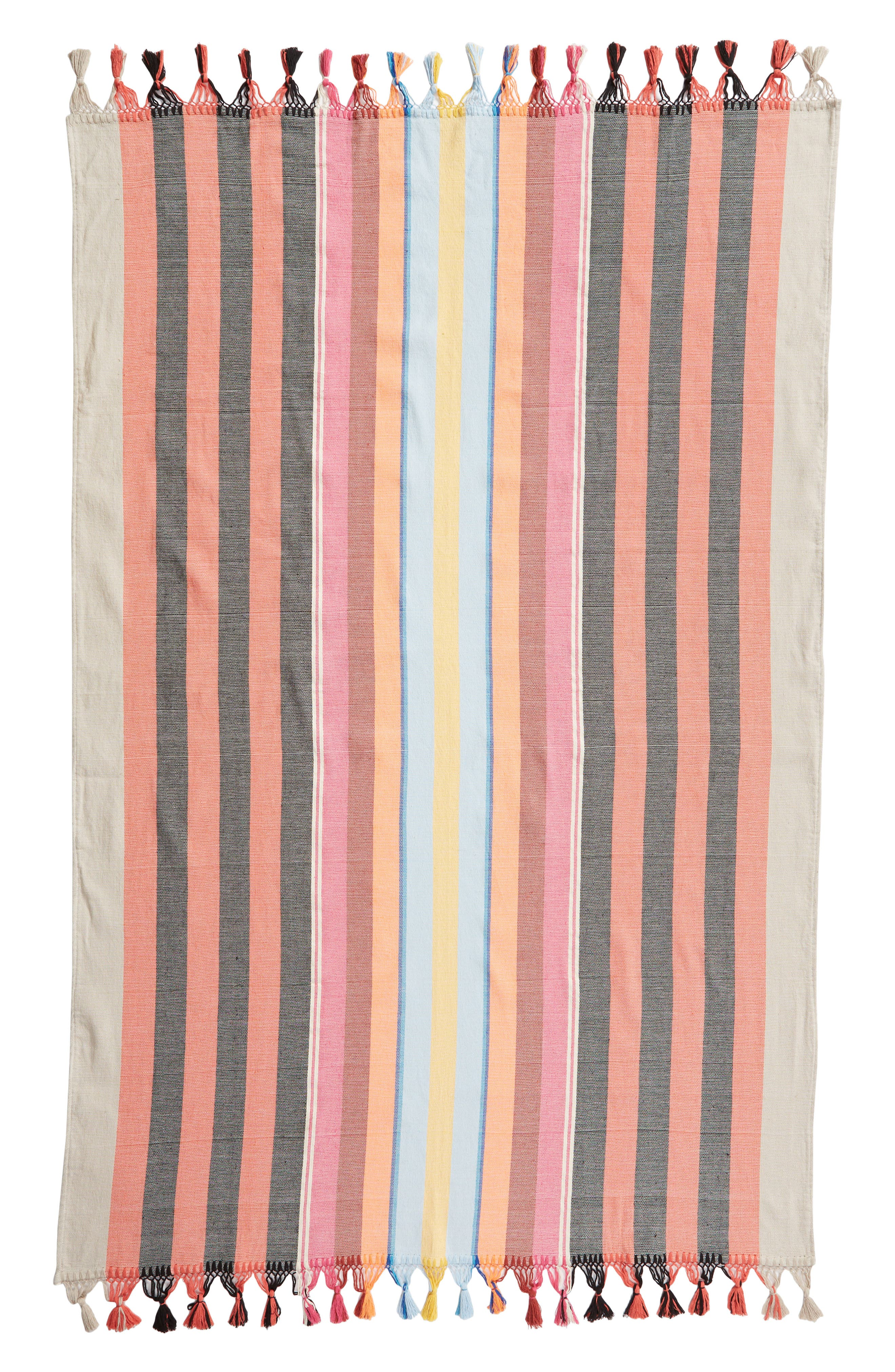 Indian Summer Woven Cotton Blanket,                             Alternate thumbnail 2, color,                             800