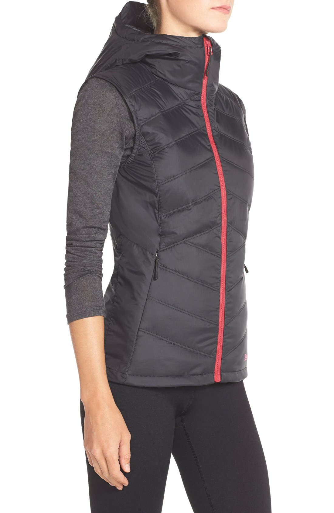 Bench 'Skyhigh' Insulated Vest,                             Alternate thumbnail 3, color,                             001